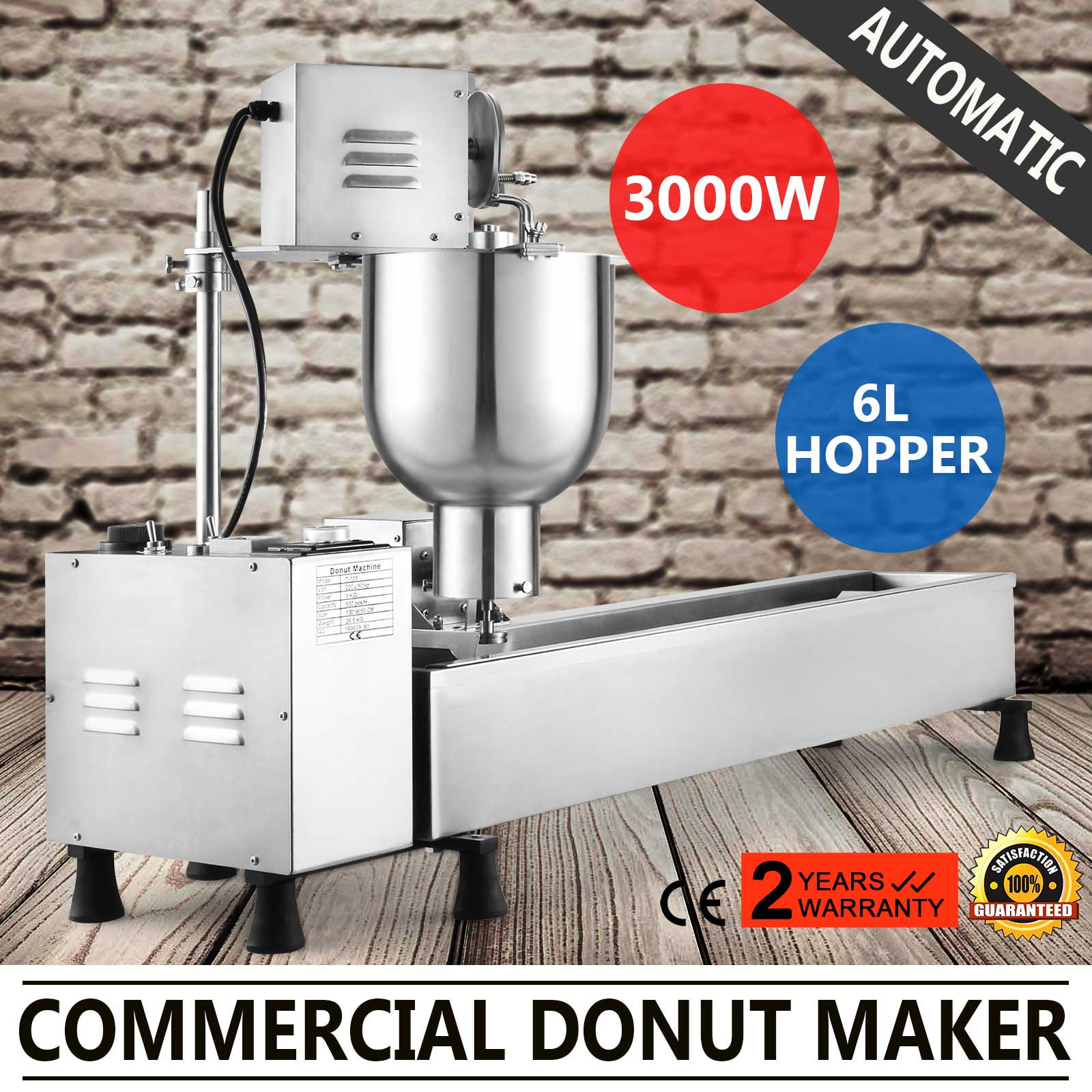 Automatic Doughnut Factory: AUTOMATIC DONUT MAKER MAKING MACHINE MINI DONUTS