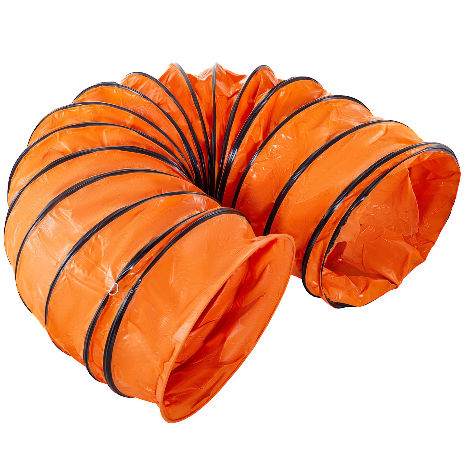 Tubo-Condotto-3m-356mm-Aria-Riscaldamento-Di-Aspirazione-Flessibile-2-Ganci miniatura 10