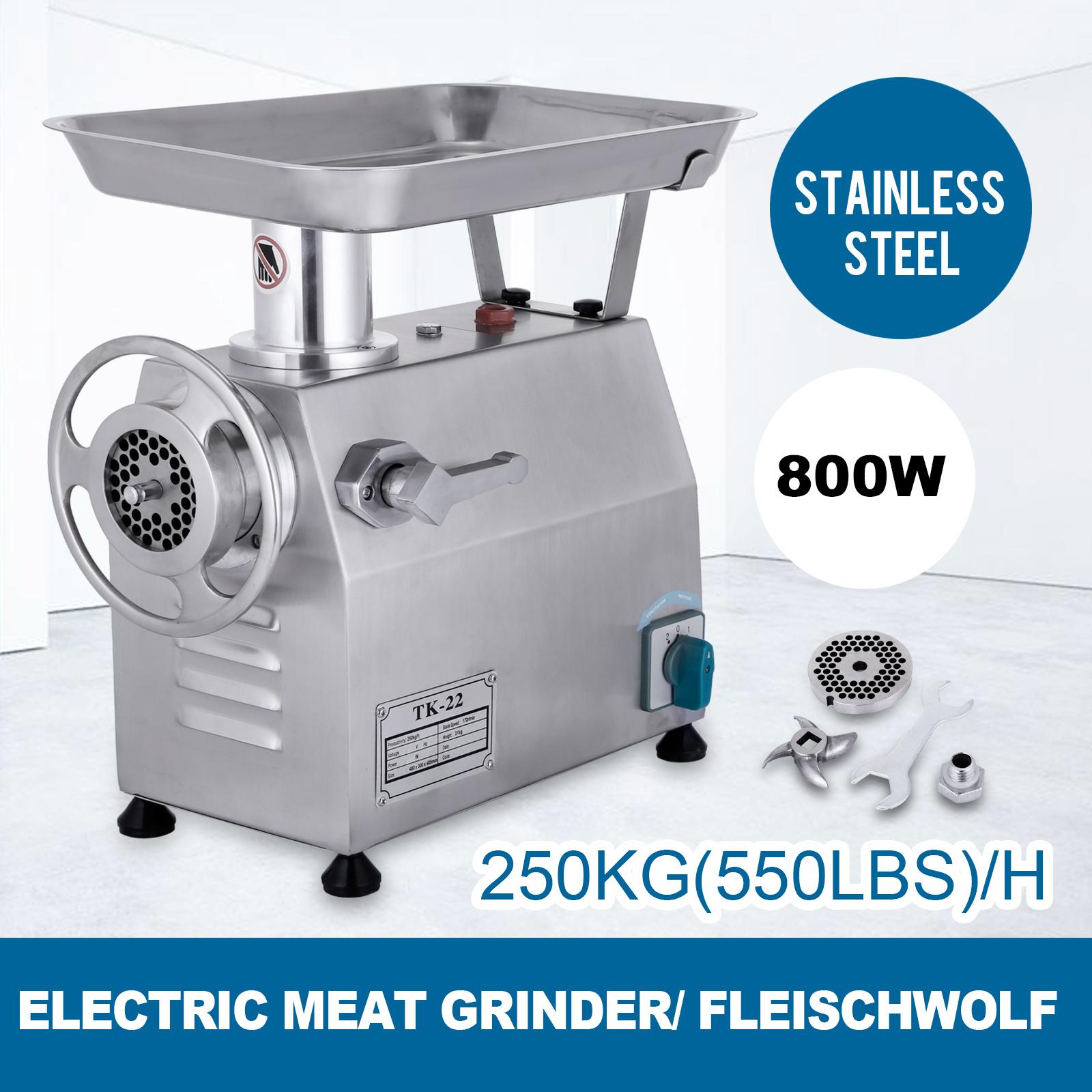 Picadora-De-Carne-250kg-h-Carne-Amoladora-Electricos-Calidad-Triturador-Molino