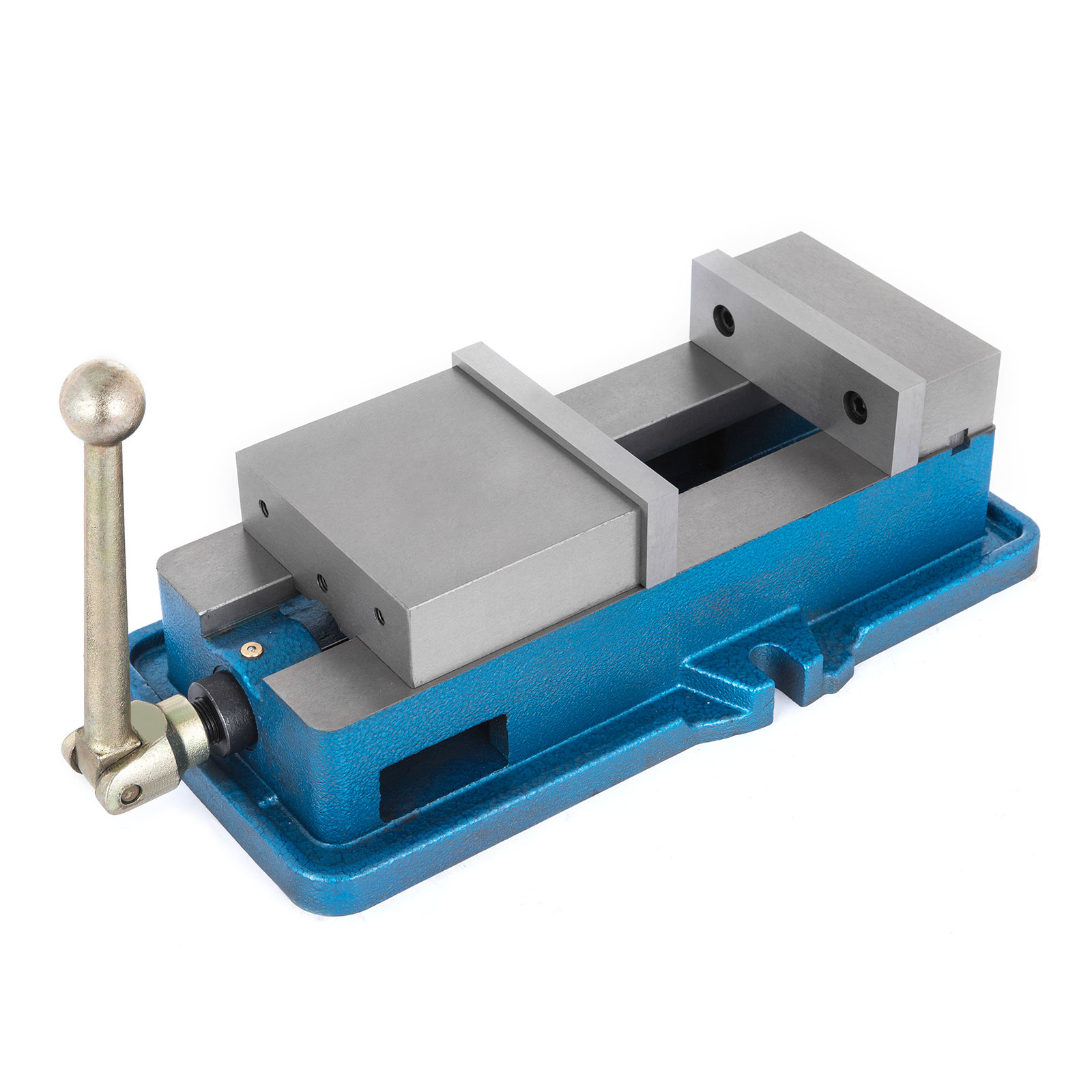 "3-6/"" Bench Clamp Lock Vise with//without Swivel Base 80-160mm 15-29KN 360℃"