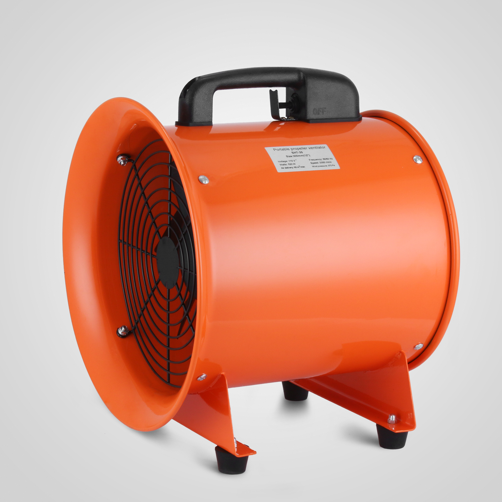 Large Fans Or Blowers : Quot industrial extractor fan blower w duct hose low noise