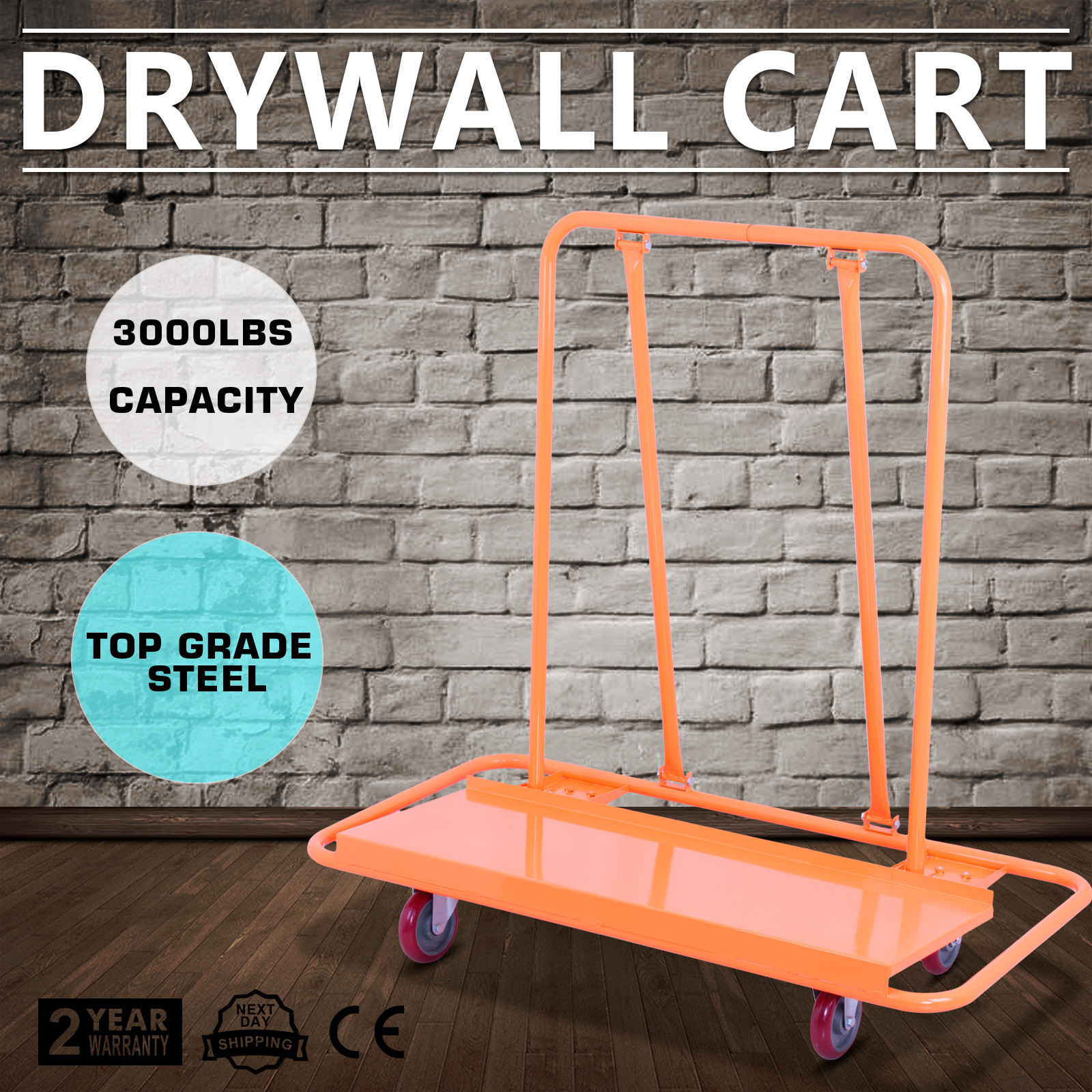 Drywall Cart Plasterboard Wheeled Trolley 3000LB Handling Panel Heavy Duty - Hamburg, Deutschland - Drywall Cart Plasterboard Wheeled Trolley 3000LB Handling Panel Heavy Duty - Hamburg, Deutschland