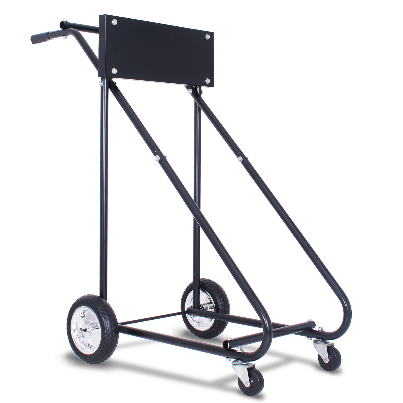140kg Outboard Motor Stand Trolly Engine Carrier Trolling