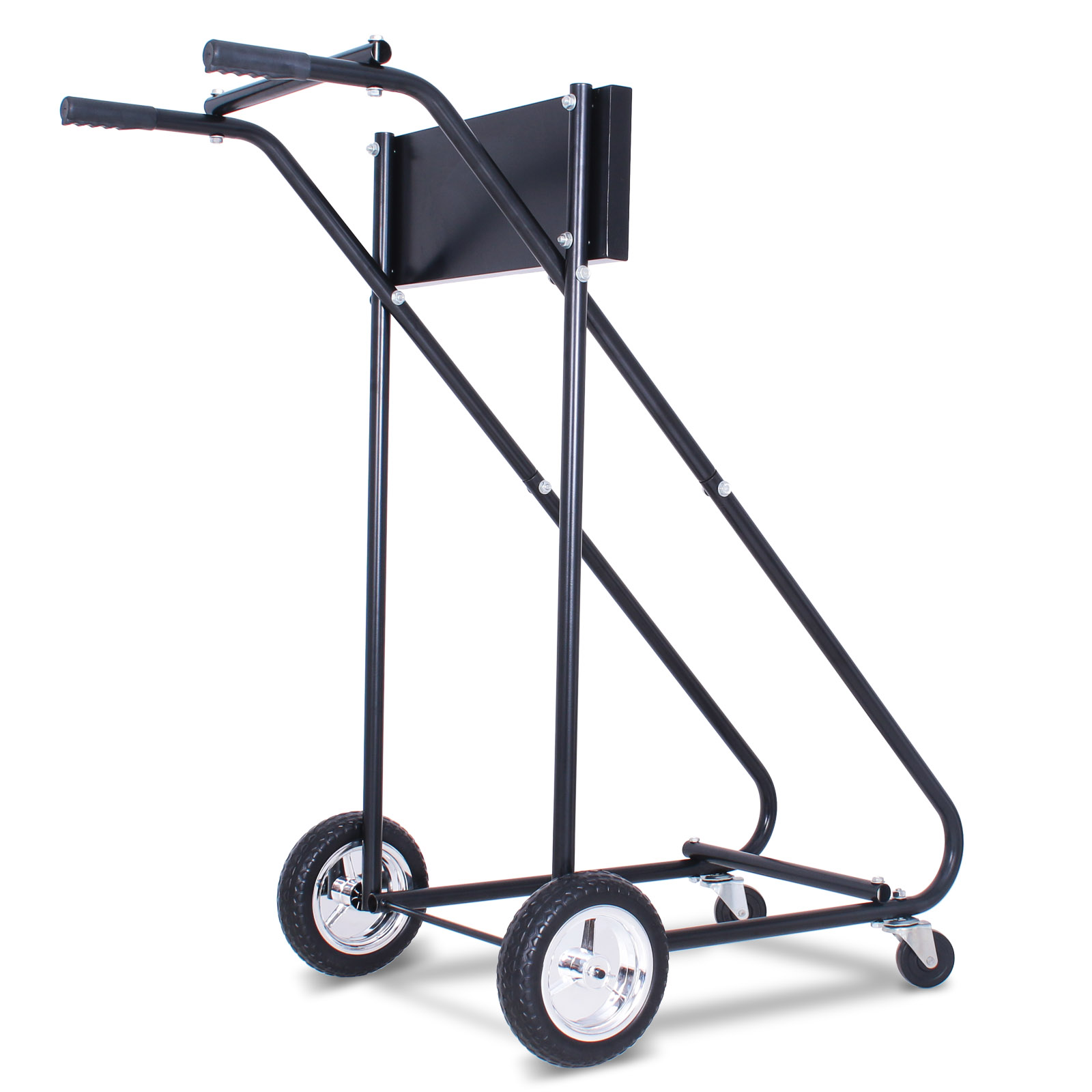 Outboard Motor Carrier : Lb outboard boat motor stand carrier cart dolly