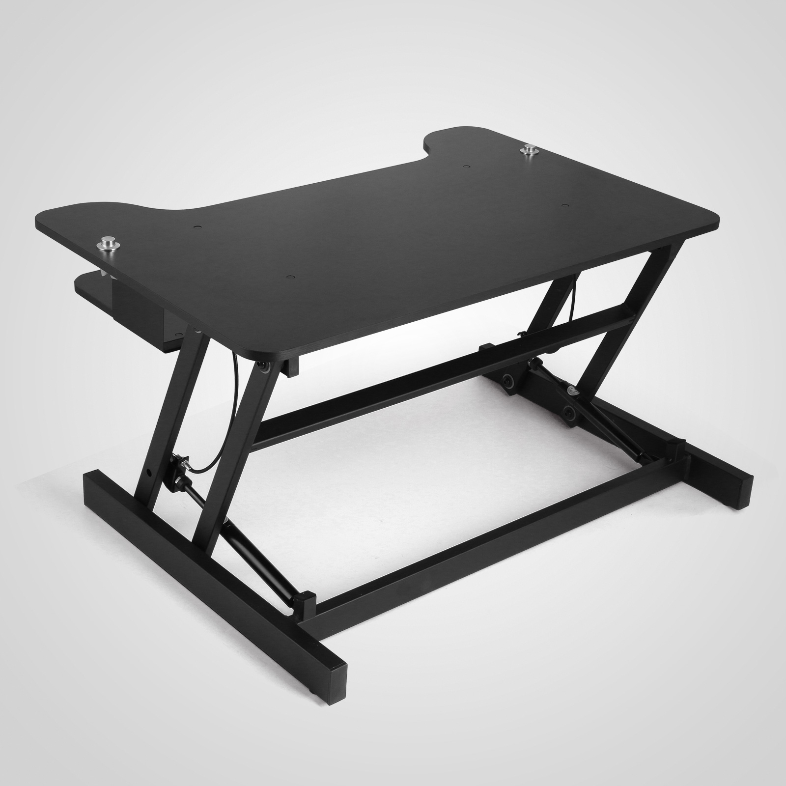 Xl Adjustable Height Sit Stand Standing Computer Desk
