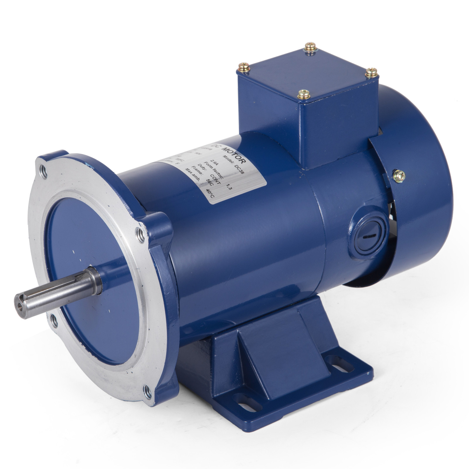 Brand New Permanent Magnet 1//4~3HP 90//180V 56C DC MOTOR 1750RPM TEFC