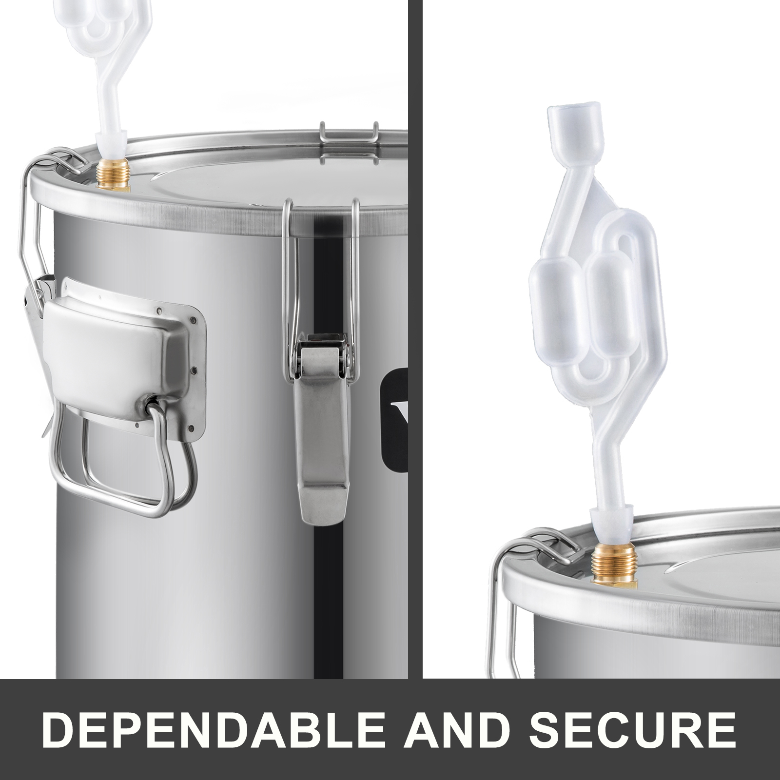 Moonshine Still 3//5//10 Gal Water Wine Alcohol Distiller Boiler Kit Home DIY