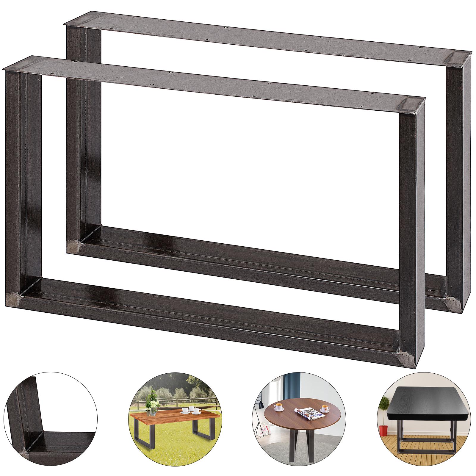 2x-Gambe-per-tavolo-piedi-tavolo-72X-100-CM-Salotto-Cucina-stile-industriale