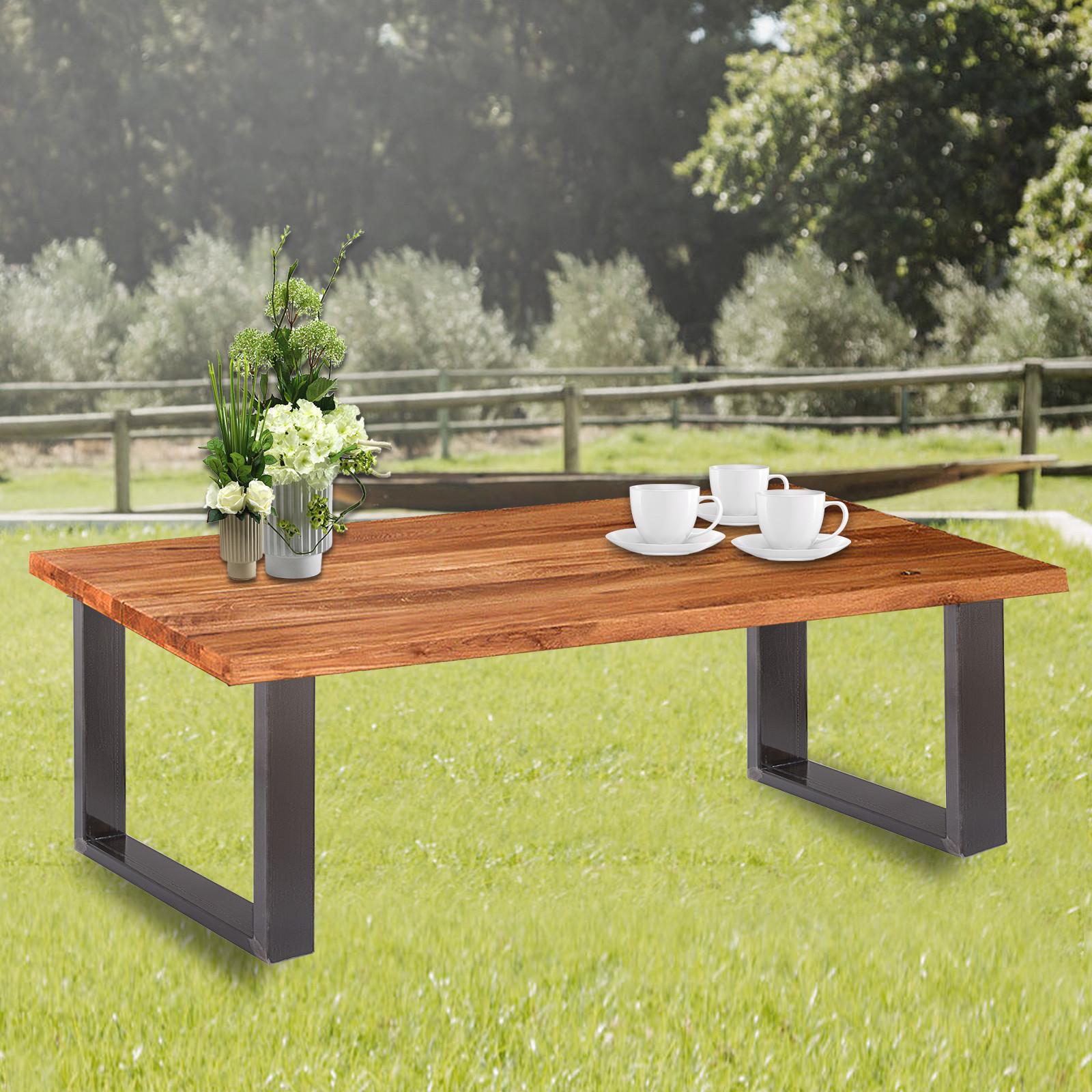 2x-Gambe-per-tavolo-piedi-tavolo-72X-100-CM-Salotto-Cucina-stile-industriale miniatura 12