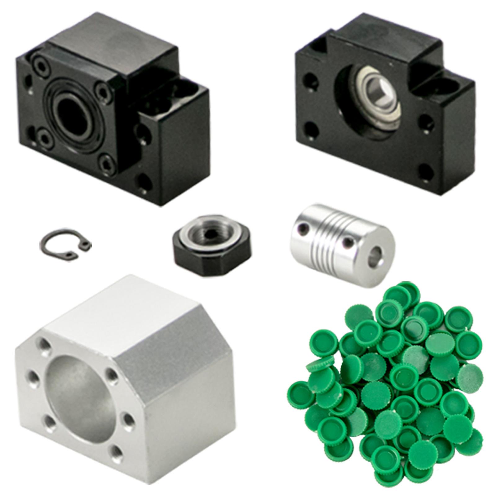Guida-Lineare-CNC-HGR20-200mm-2-Pezzi-Blocco-di-Cuscinetti-4-Pezzi miniatura 9