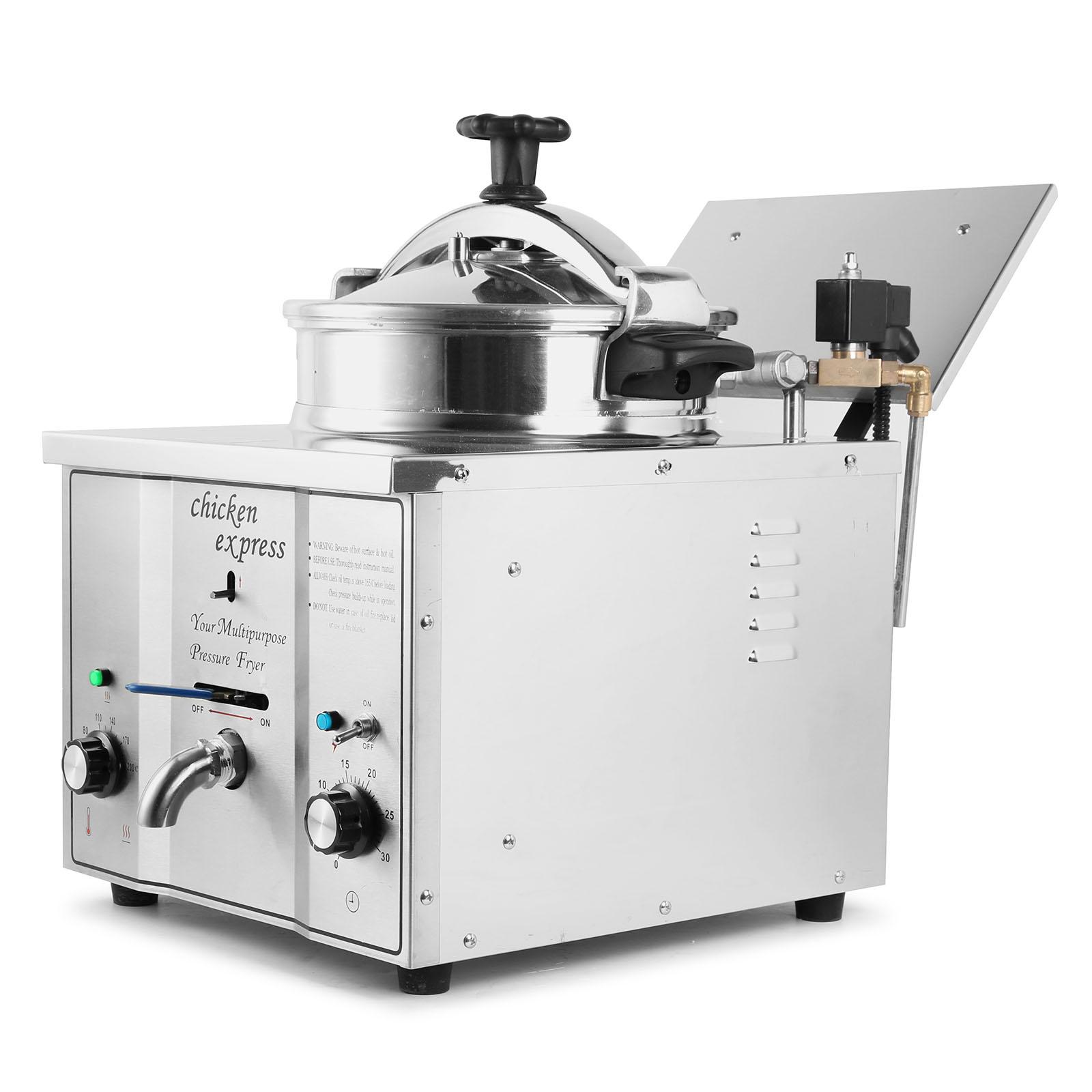 Electric Pressure Fryer ~ Pressure fryer heater l countertop commercial electric