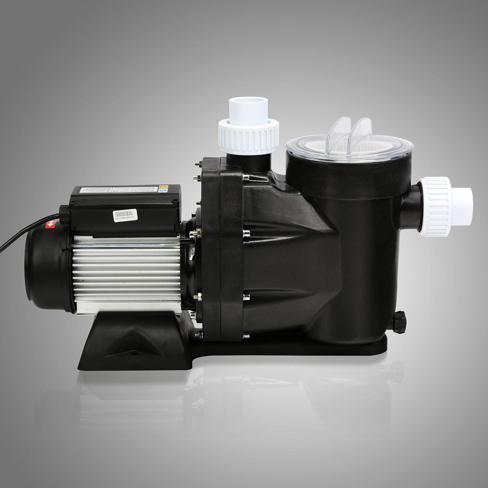 2 5hp pool pump motor above ground swimming pool filter hi - Most energy efficient swimming pool pump ...