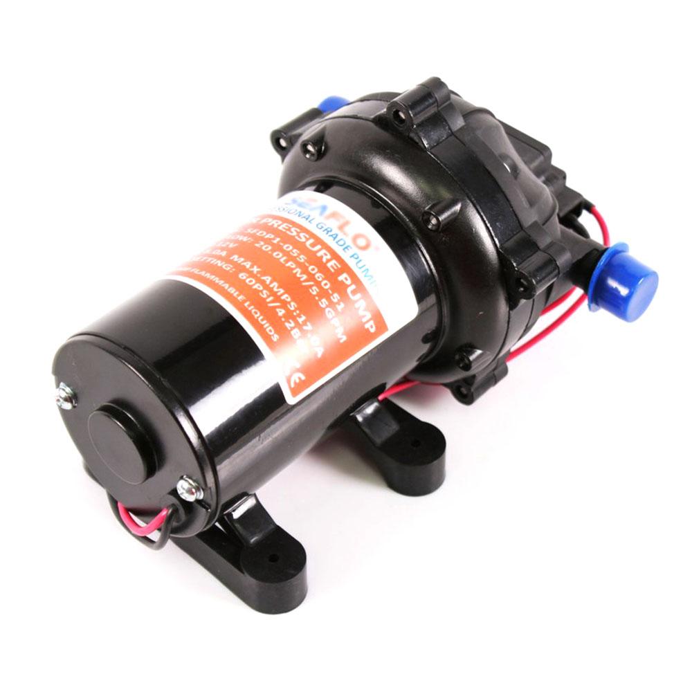 12V WATER PRESSURE DIAPHRAGM PUMP 5.5GPM 20L/MIN 60PSI