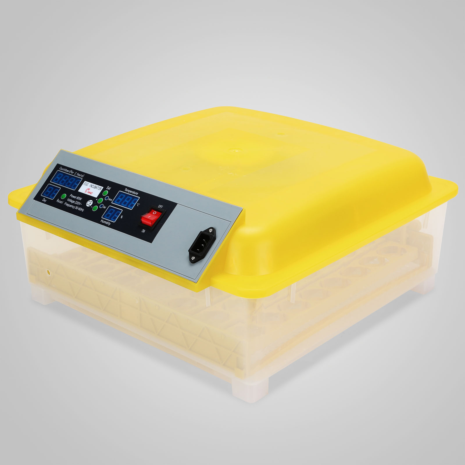 Automatic 48 Eggs Incubator Chicken Incubator Poultry Hatcher #BBA110