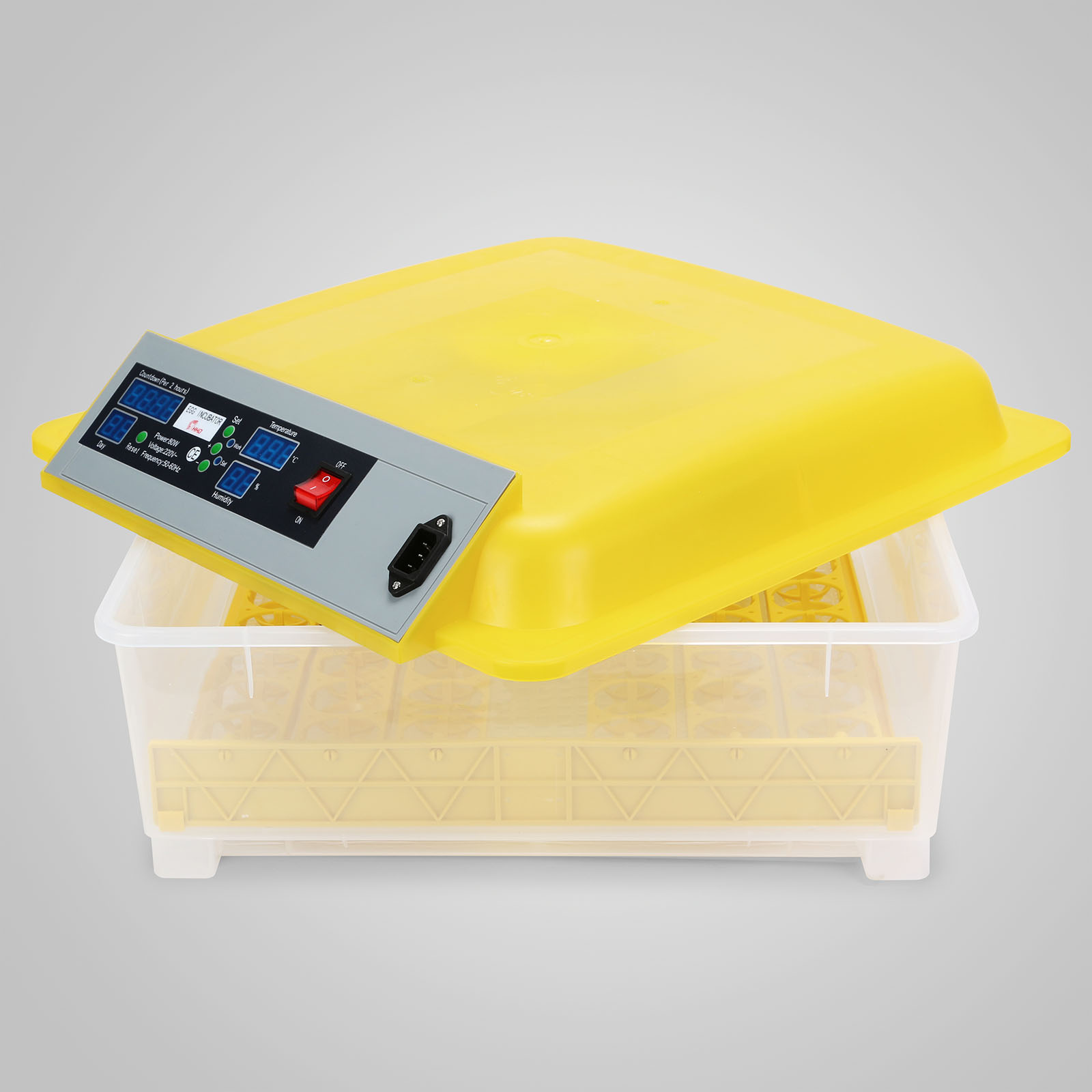 Automatic 48 Eggs Incubator Chicken Incubator Poultry Hatcher #BAA111