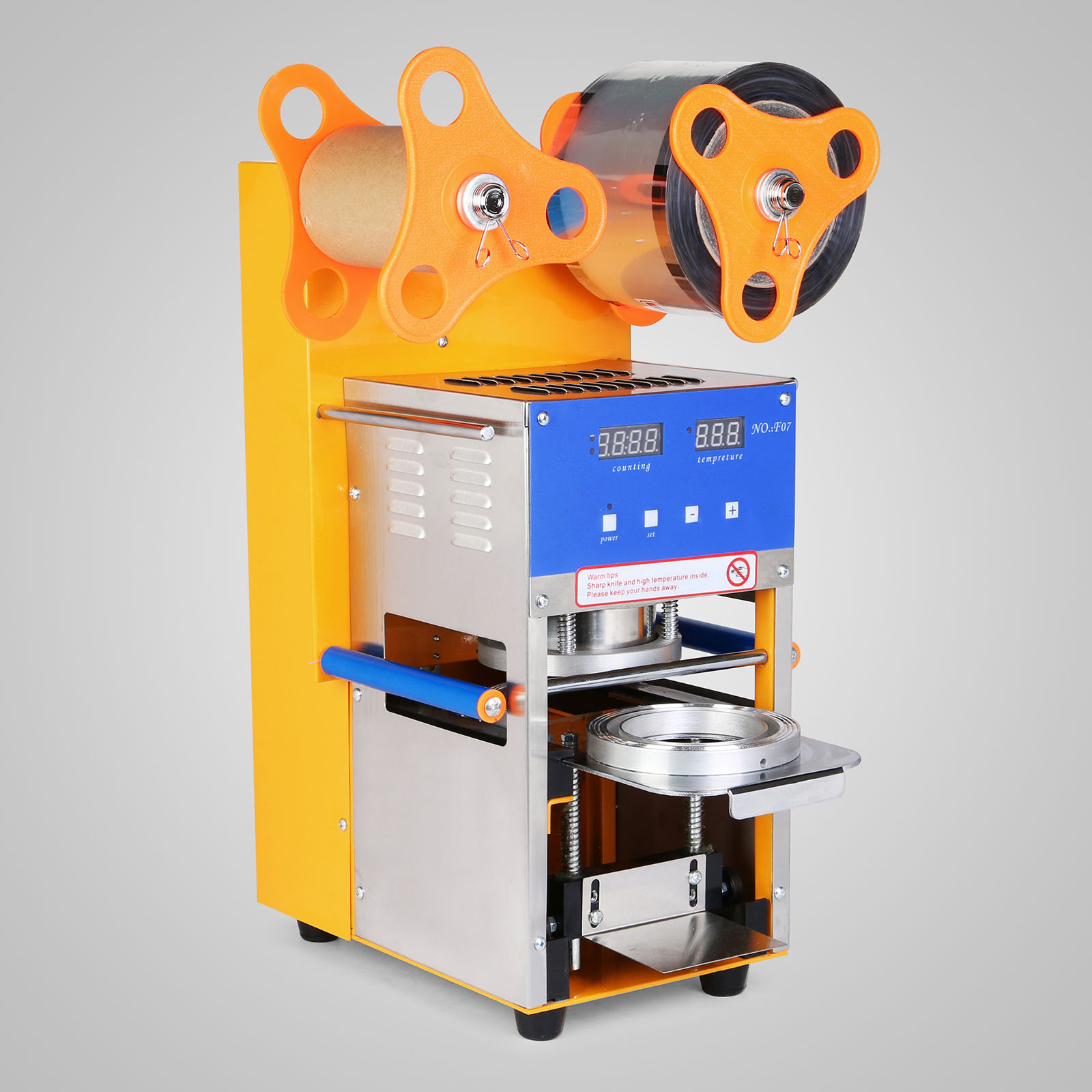 CUP SEALER AUTO SEALING MACHINE PACKAGING WITH SENSITIVE ...