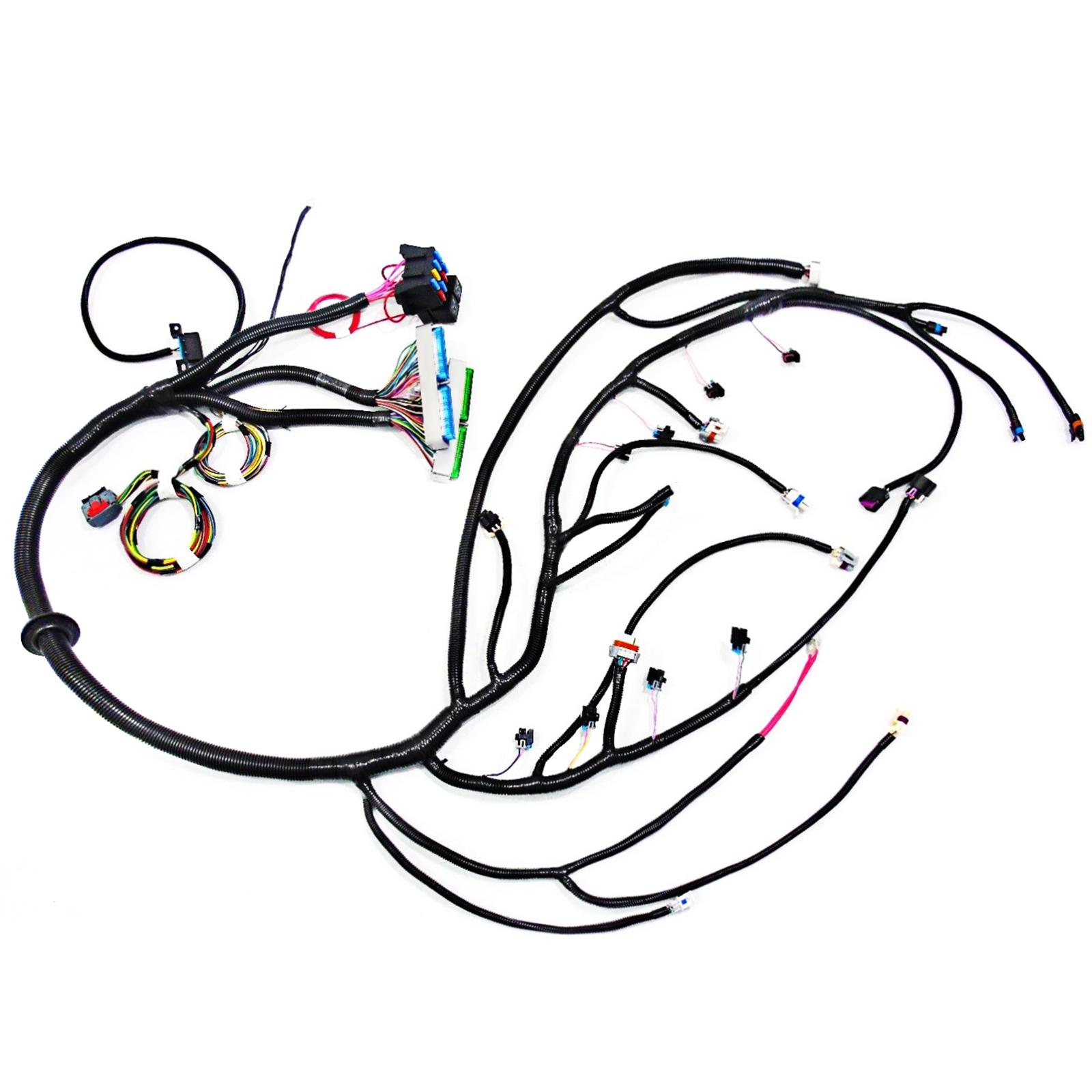 u0026 39 03  4l60e standalone swap wiring harness  dbw  ls1 intake 871248811143