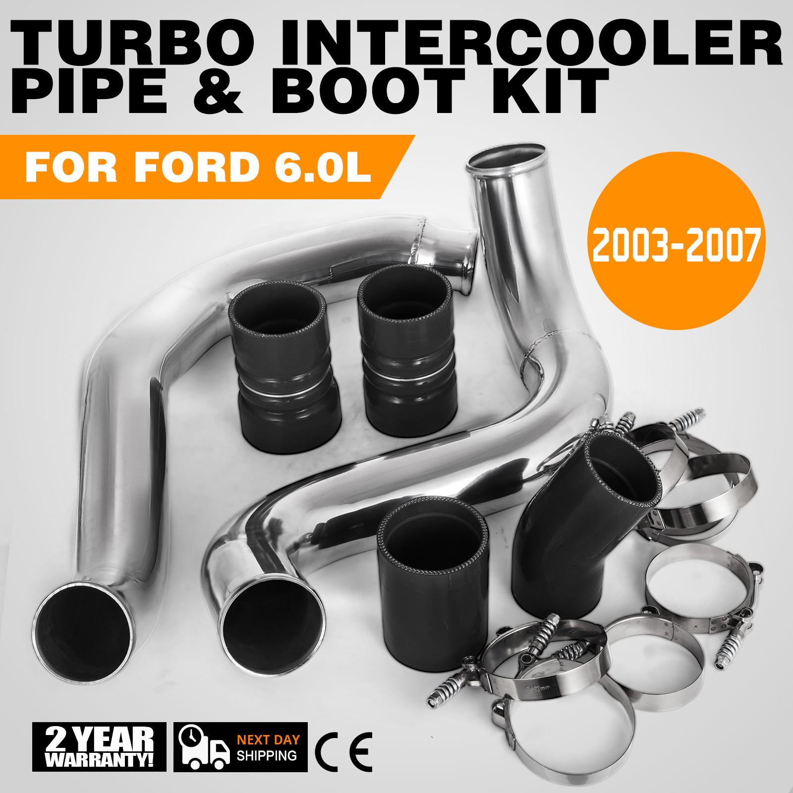 Turbo Intercooler Pipe /& Boot Kit 03-07 Ford F-250 F-350 F-450 6.0L PowerStroke