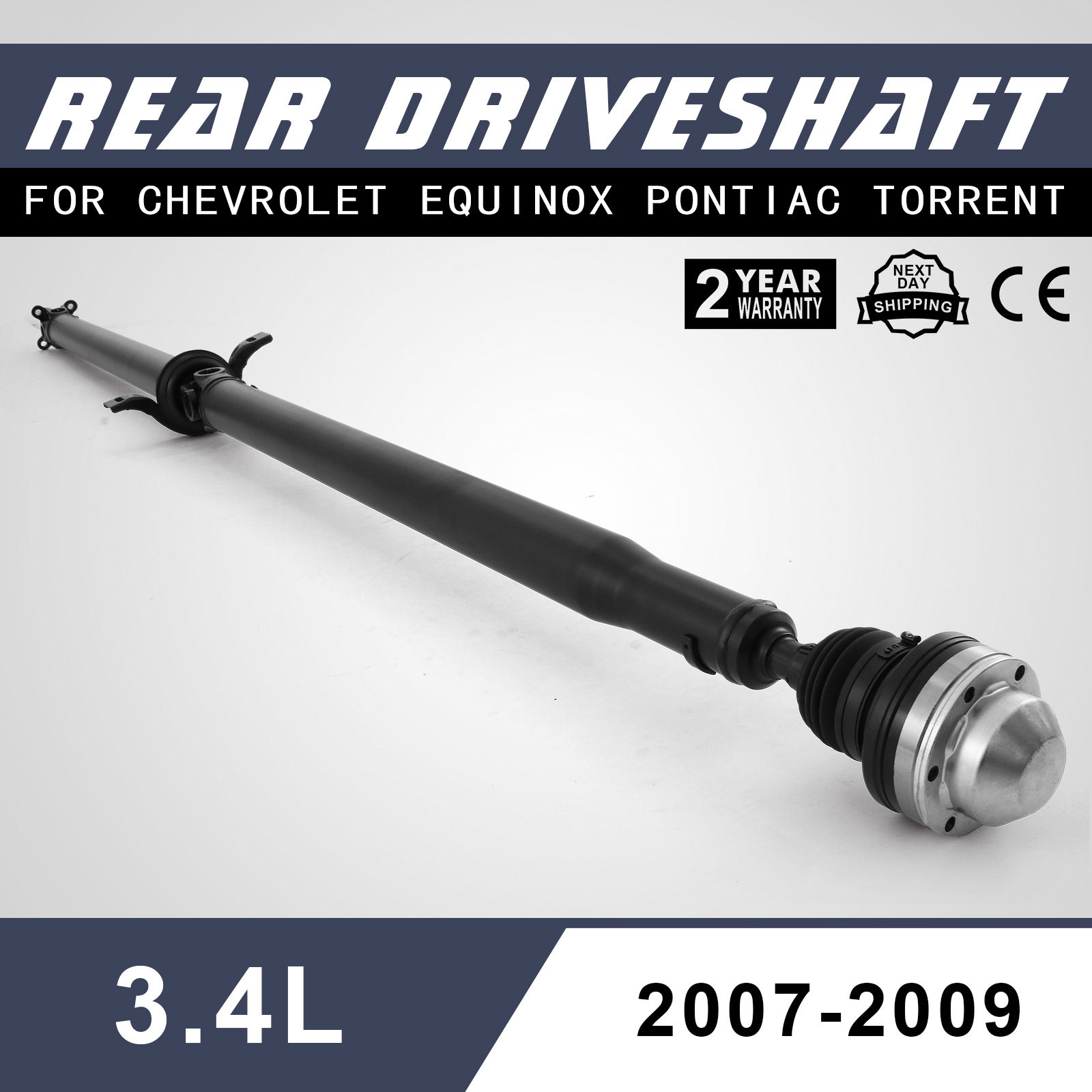 Chevy Equinox Driveshaft Drive Shaft Awd 07 09 Equinox