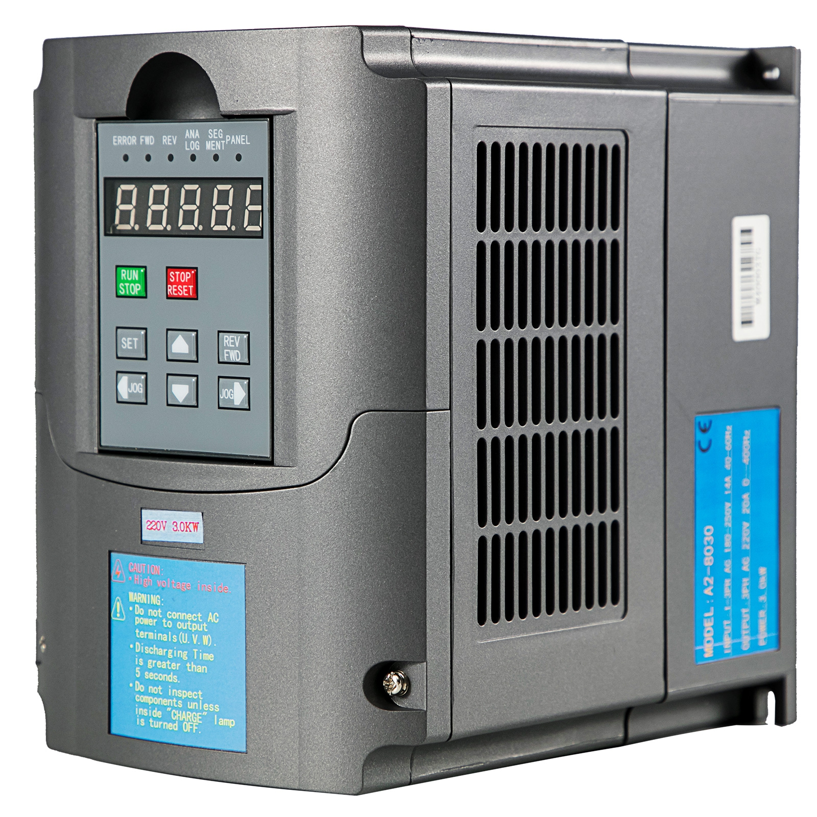 1.5KW Variable Frequency Drive Inverter 2HP 13A 110V VFD VSD 1-3 Phase SPWM US