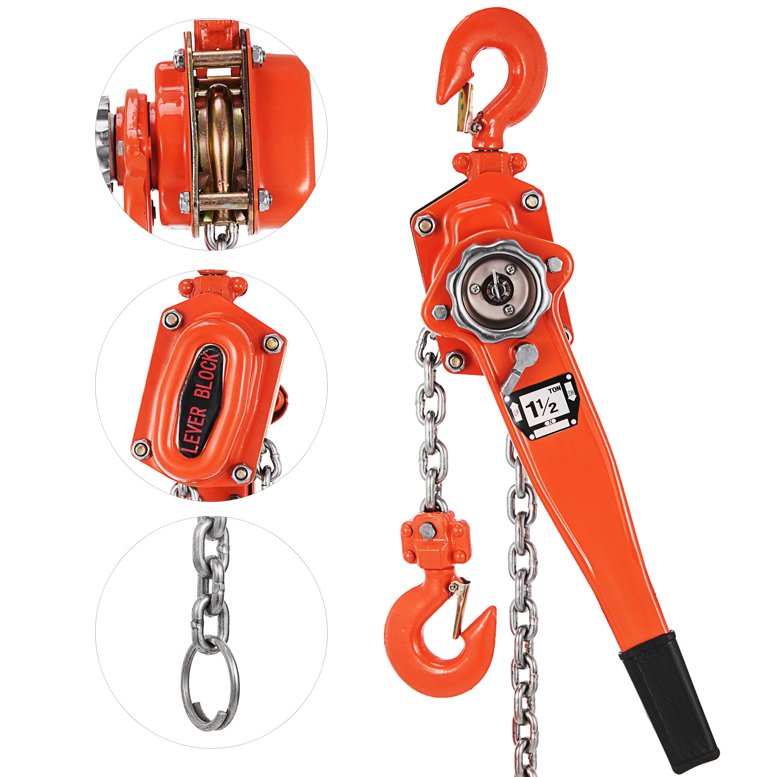 15ton 5 10 20ft Lever Hoist 1500kg Chain Manual Hand Ratchet Winch 1 Ton Cm Wiring Diagram Image Is Loading 5ton