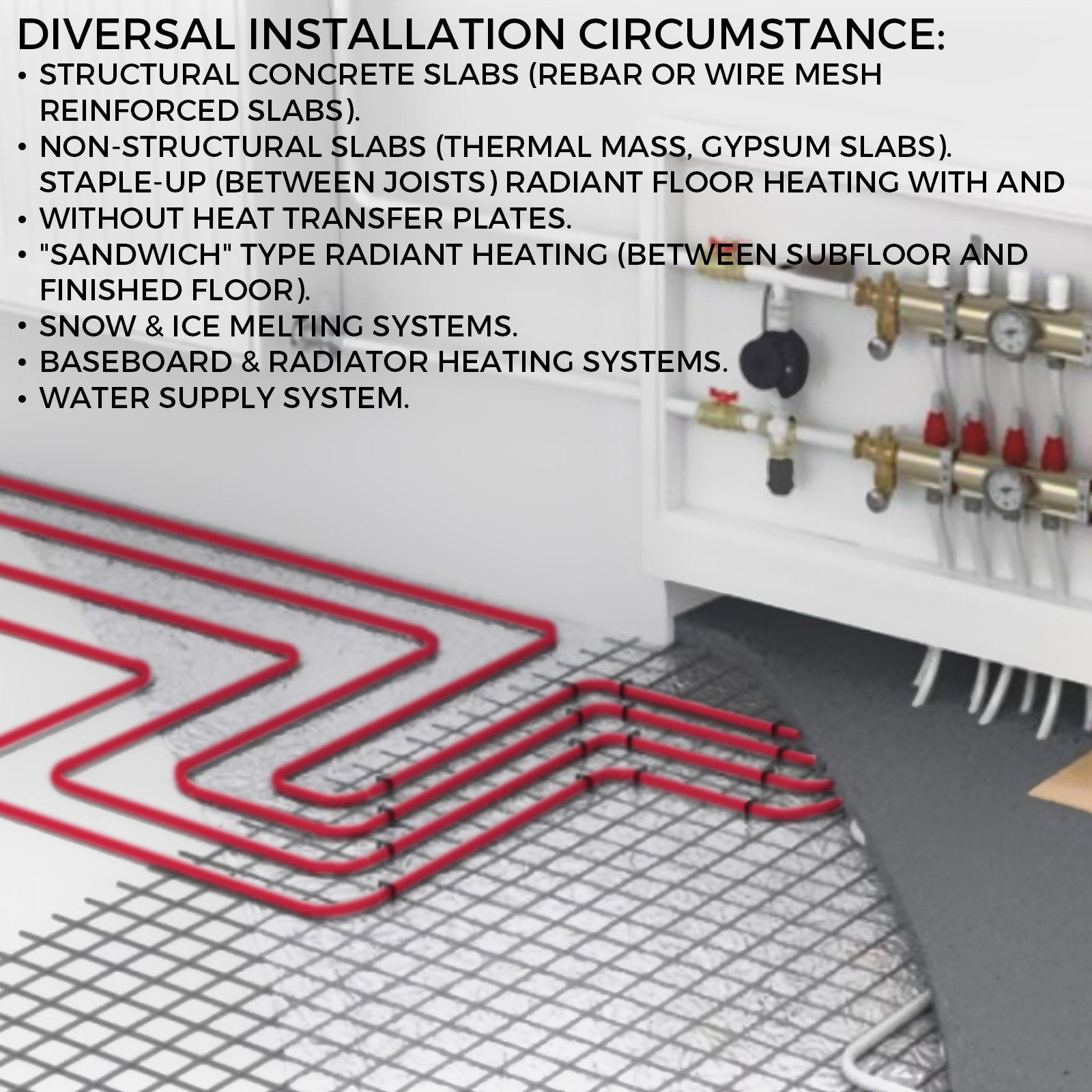 1-2-034-x-100-200-300-1000ft-Pex-Tubing-Oxygen-Barrier-Red-Blue-Radiant-Floor-Heat thumbnail 92
