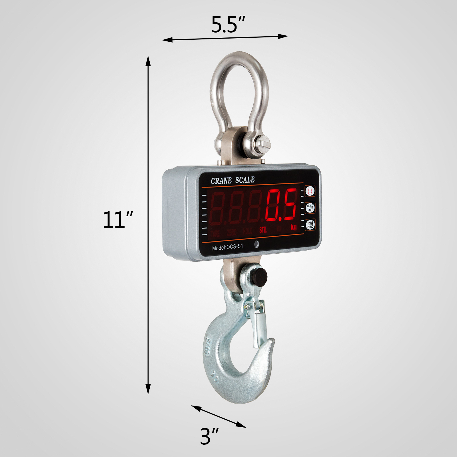 thumbnail 50 - 1T/3T/5T Digital Crane Scales Hanging Scale Electronic Scales Accurate Sensitive