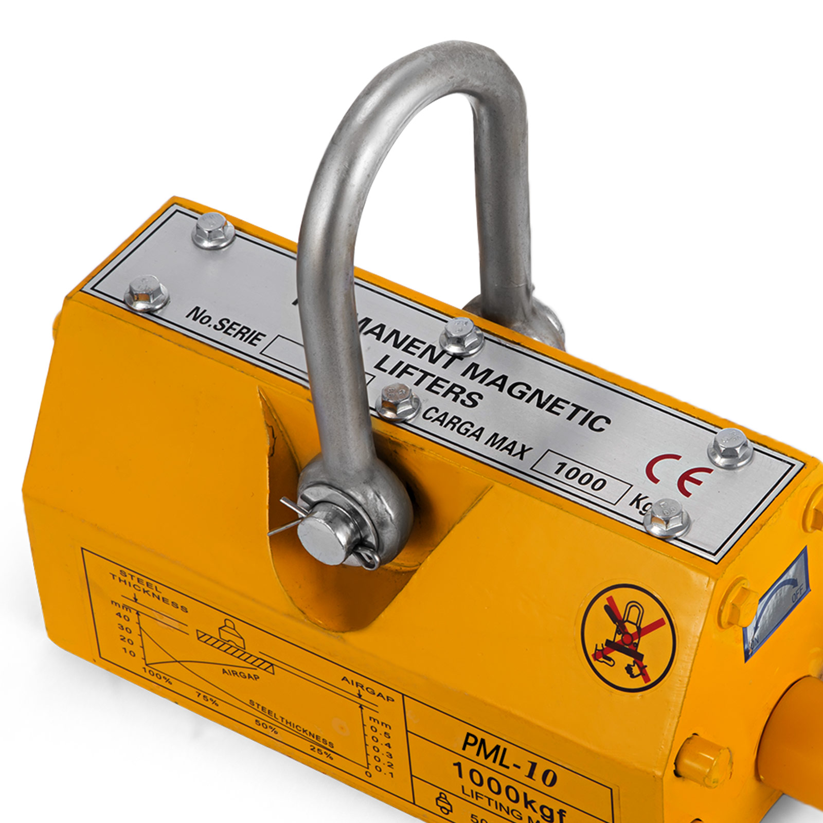 100-300-600-1000KG-Steel-Magnetic-Lifter-Heavy-Duty-Crane-Hoist-Lifting-Magnet miniature 70
