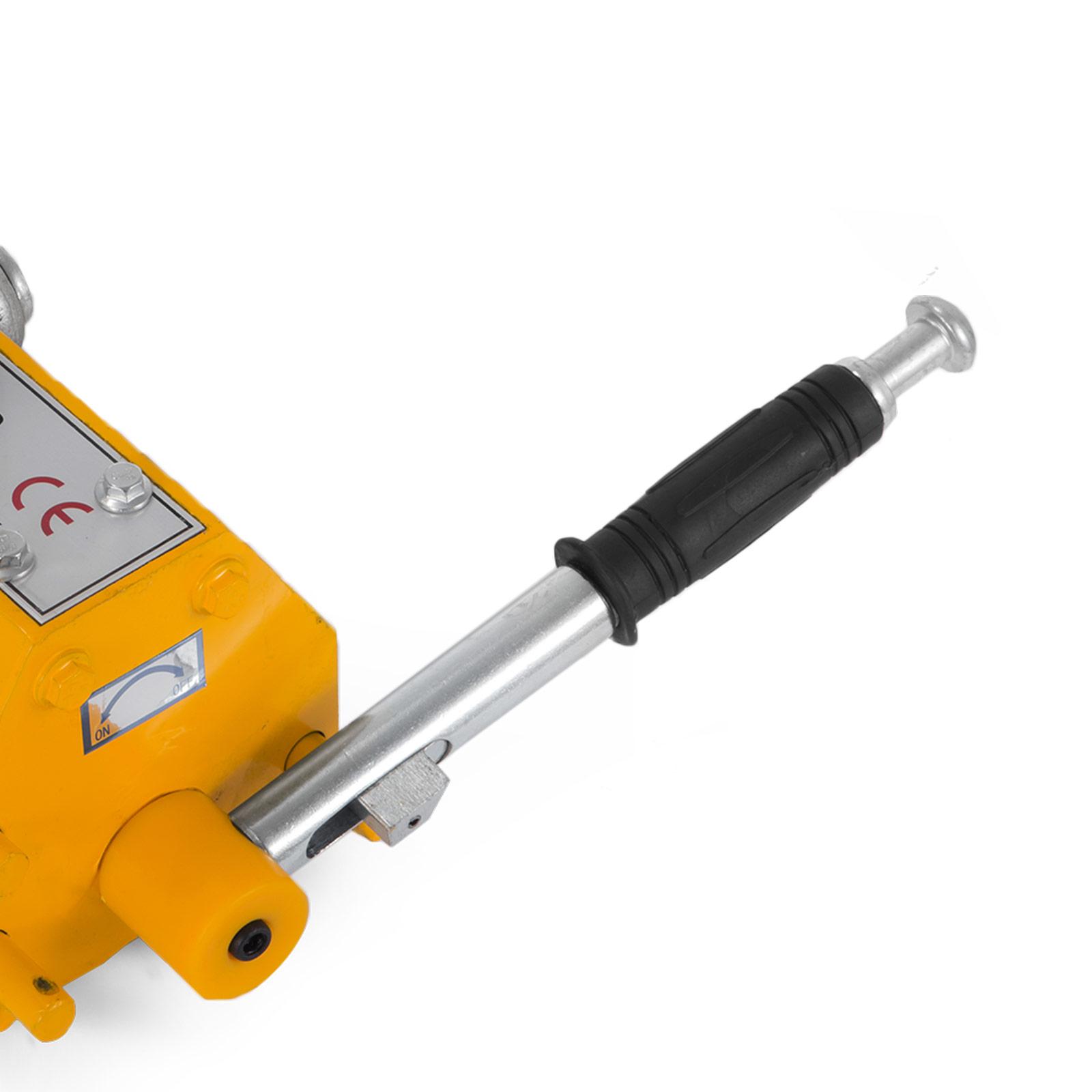 100-300-600-1000KG-Steel-Magnetic-Lifter-Heavy-Duty-Crane-Hoist-Lifting-Magnet miniature 72