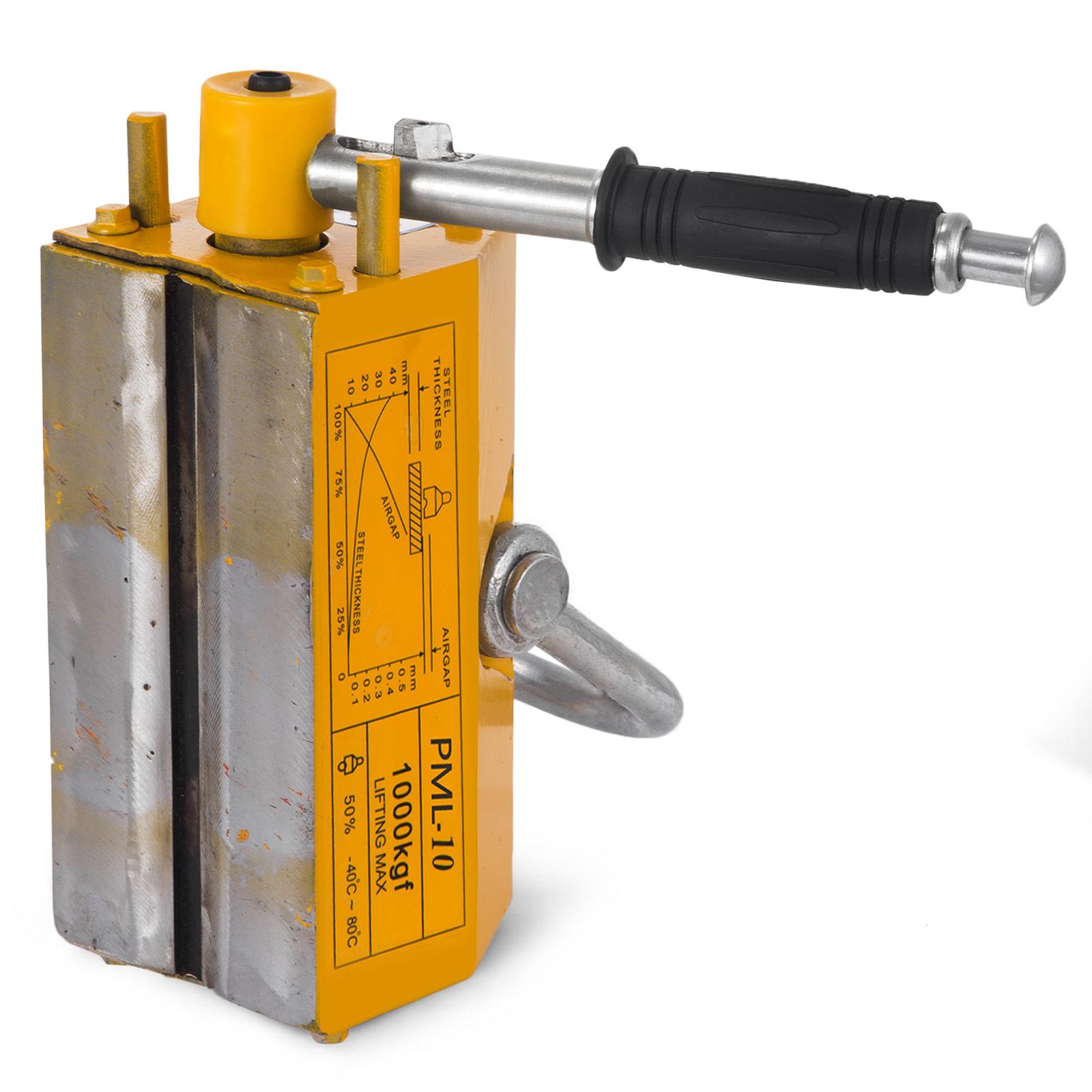 100-300-600-1000KG-Steel-Magnetic-Lifter-Heavy-Duty-Crane-Hoist-Lifting-Magnet miniature 66