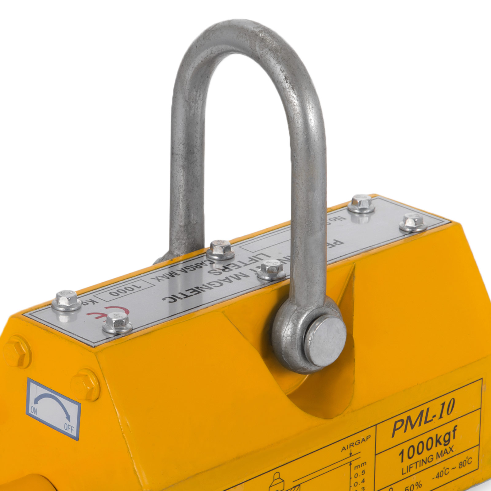 100-300-600-1000KG-Steel-Magnetic-Lifter-Heavy-Duty-Crane-Hoist-Lifting-Magnet miniature 68