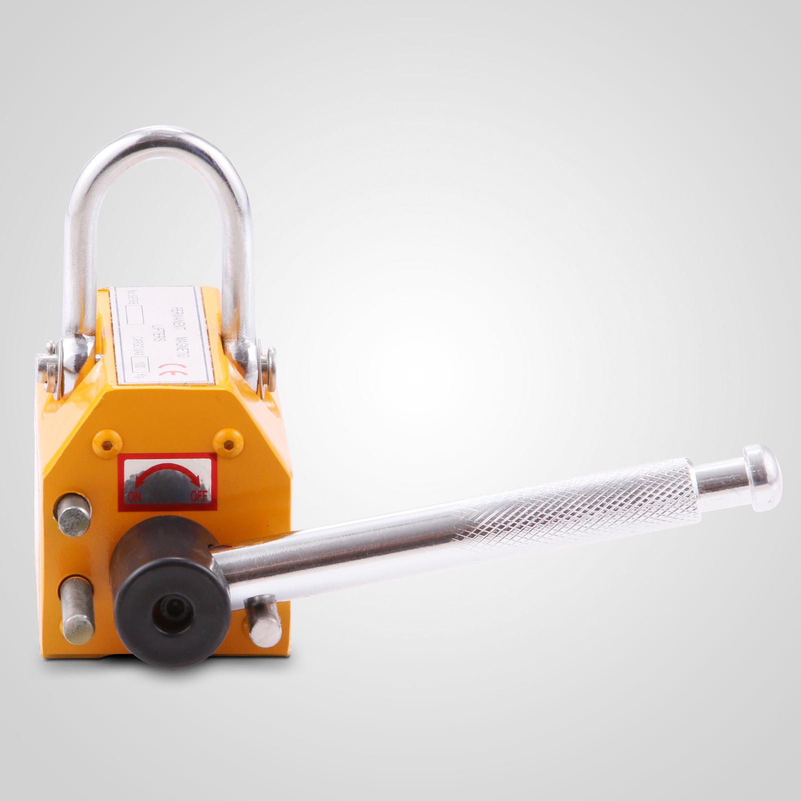 100-300-600-1000KG-Steel-Magnetic-Lifter-Heavy-Duty-Crane-Hoist-Lifting-Magnet miniature 20