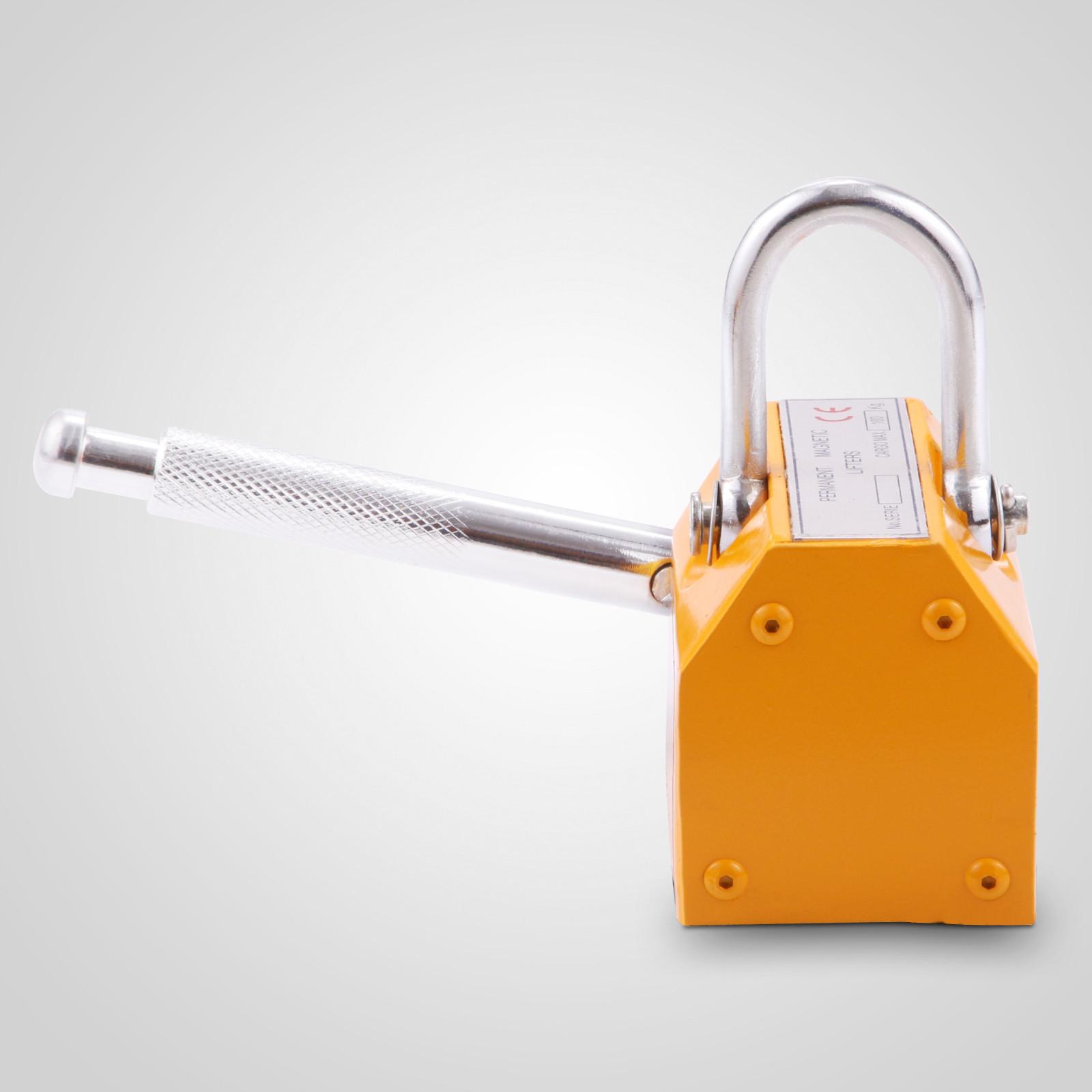 100-300-600-1000KG-Steel-Magnetic-Lifter-Heavy-Duty-Crane-Hoist-Lifting-Magnet miniature 21