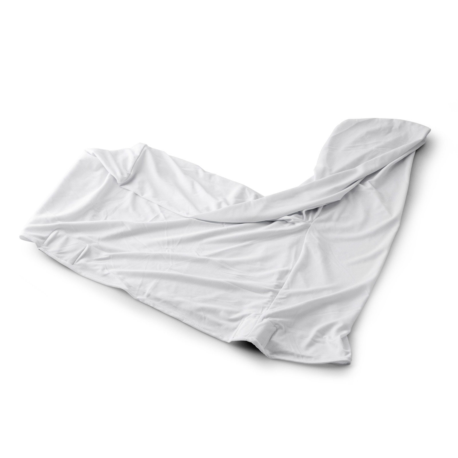100pcs Stretch Spandex White Folding Chair Covers Seat