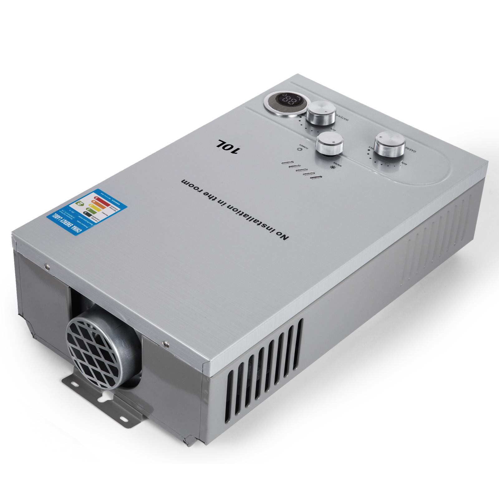 Propangas-Gas-Durchlauferhitzer-Warmwasserbereiter-Boiler-Warmwasserspeicher Indexbild 55