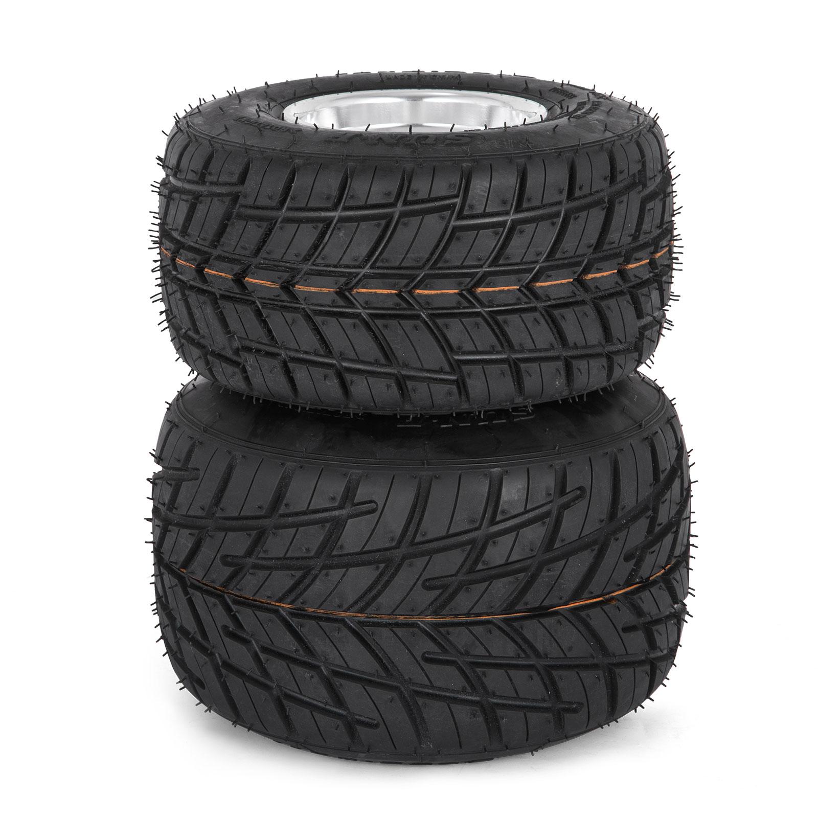 Go Kart Wheels Rain Tires Set Of 4 Rim Tyre 10x450 5 52cc Scooterx Power Service Product Description The