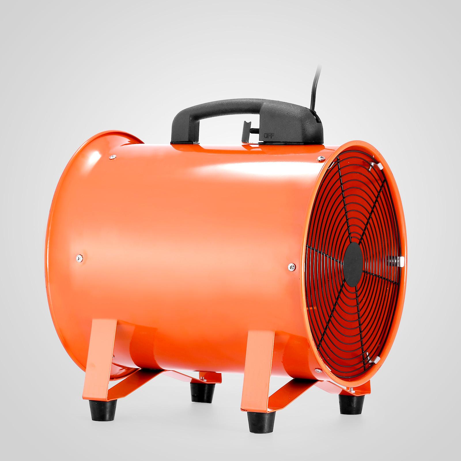 Blower Fan With Hose : Mm industrial ventilator fan blower m duct hose