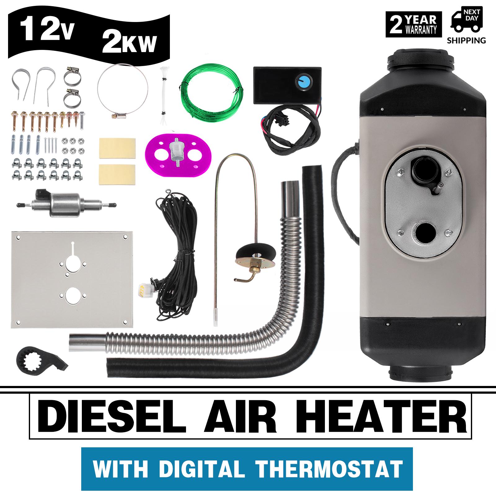 airtronic d2 12v diesel luft standheizung bausatz regler. Black Bedroom Furniture Sets. Home Design Ideas
