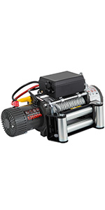 Electric Truck Winch,13500lbs,Synthetic Rope
