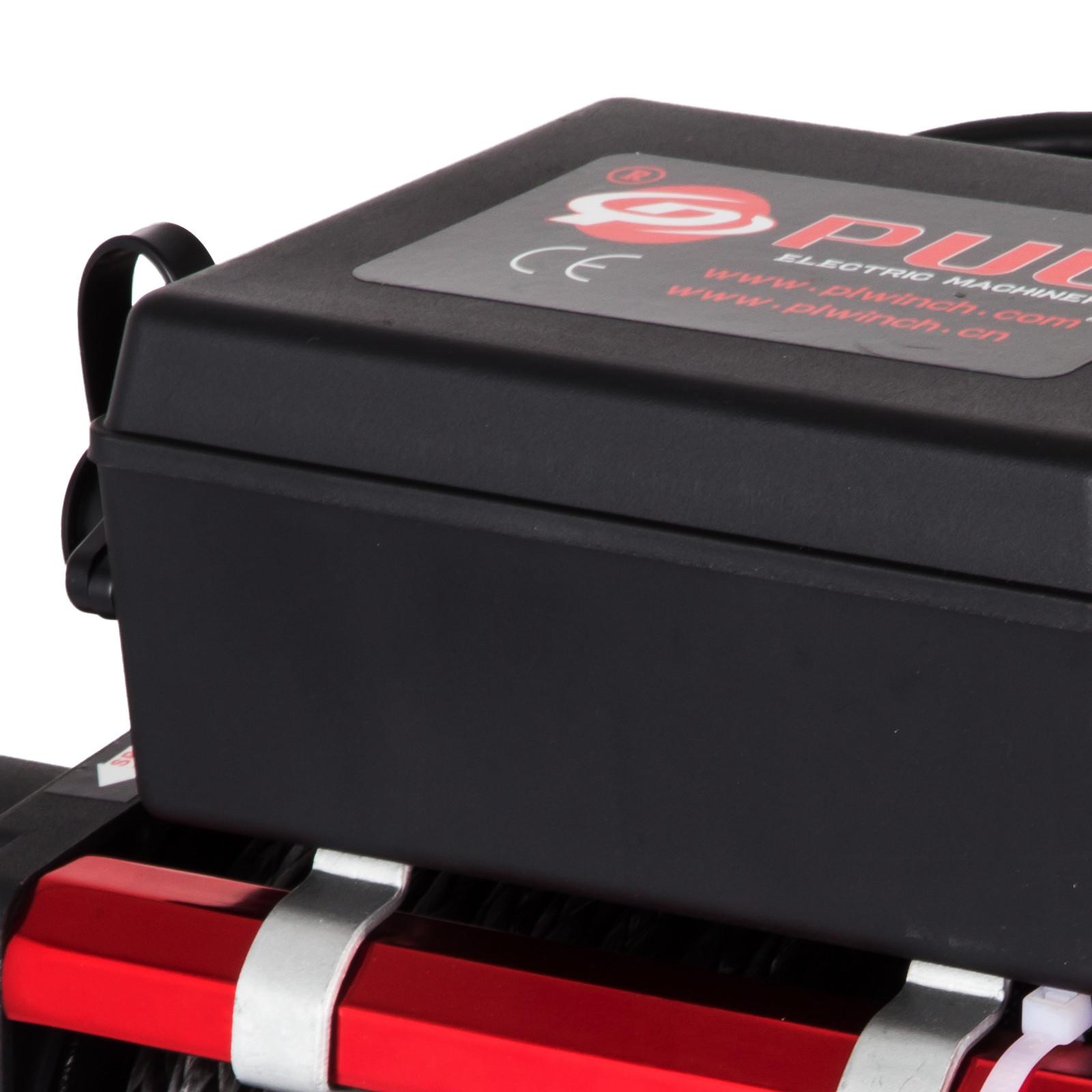 3000-4000-6000-13500LBS-12V-Verricello-elettrico-Filo-Auto-Suv miniatura 84