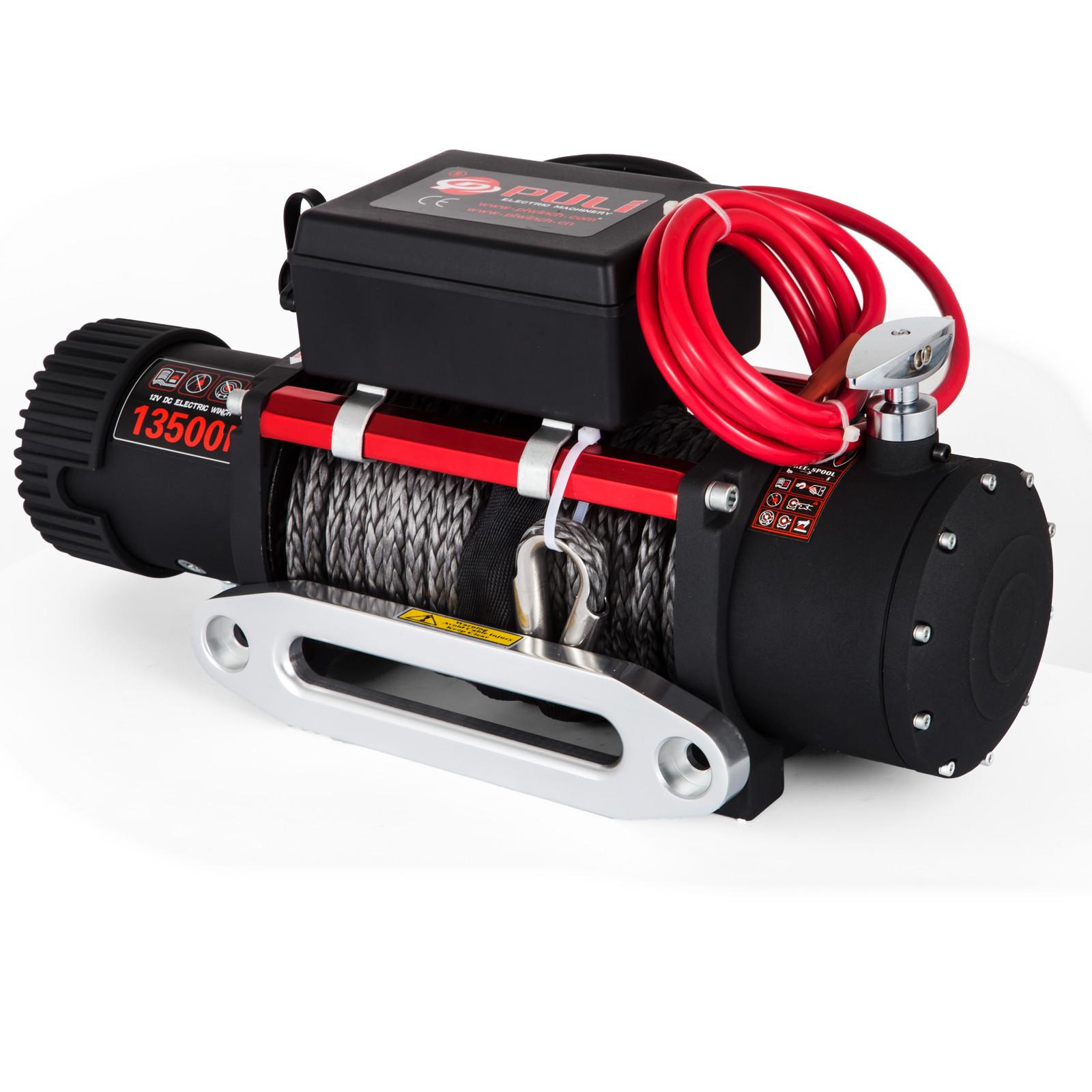 3000-4000-6000-13500LBS-12V-Verricello-elettrico-Filo-Auto-Suv miniatura 77