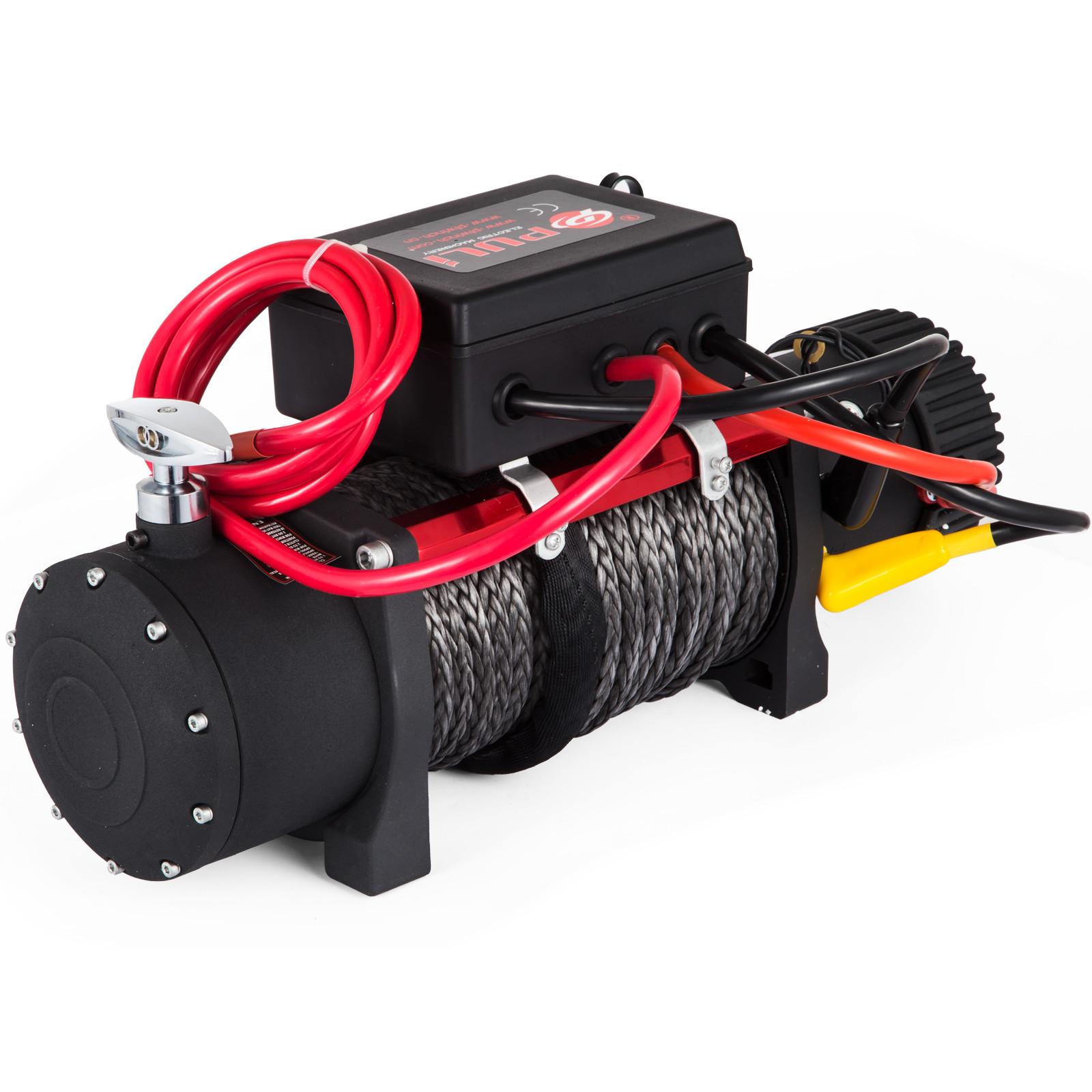 3000-4000-6000-13500LBS-12V-Verricello-elettrico-Filo-Auto-Suv miniatura 78