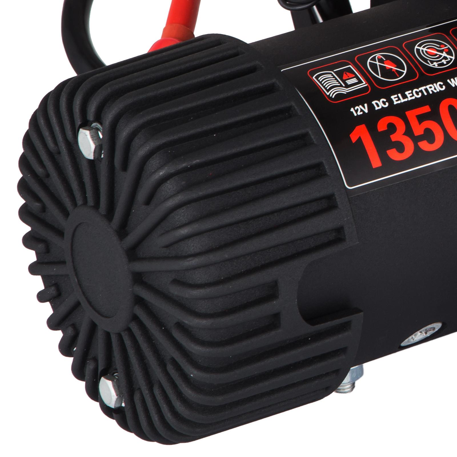 3000-4000-6000-13500LBS-12V-Verricello-elettrico-Filo-Auto-Suv miniatura 79