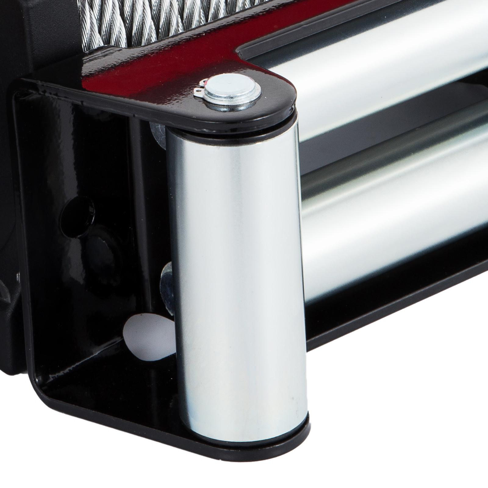 3000-4000-6000-13500LBS-12V-Verricello-elettrico-Filo-Auto-Suv miniatura 59