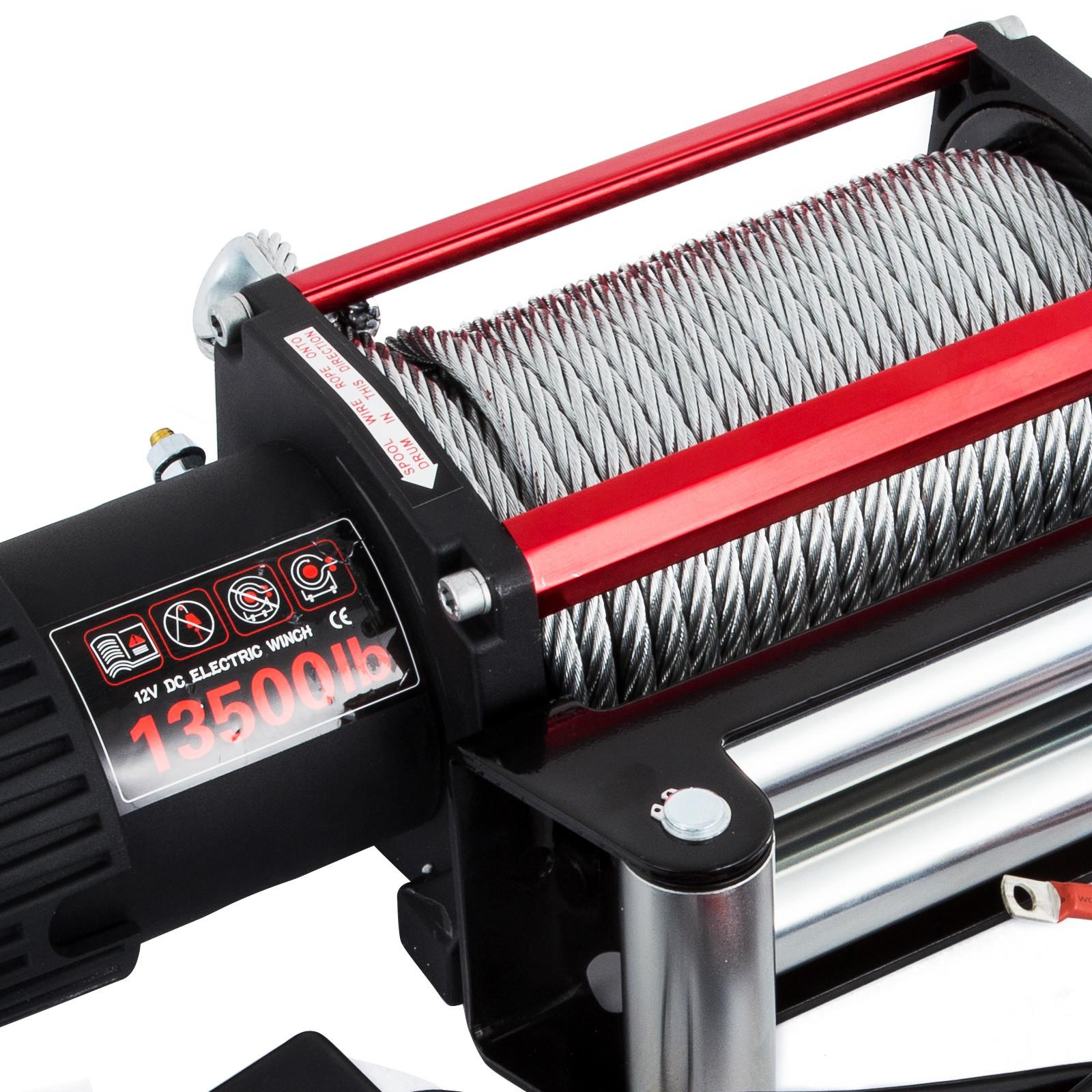 3000-4000-6000-13500LBS-12V-Verricello-elettrico-Filo-Auto-Suv miniatura 55