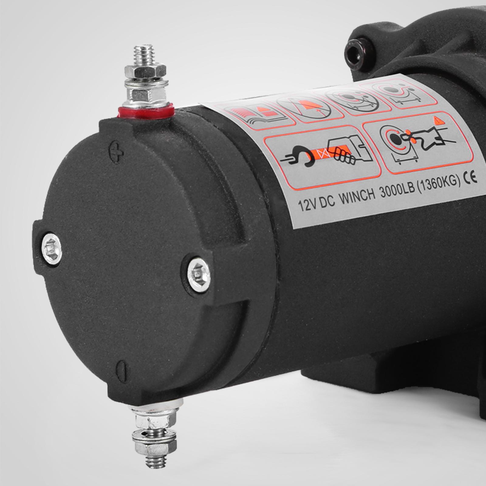 3000-4000-6000-13500LBS-12V-Verricello-elettrico-Filo-Auto-Suv miniatura 24
