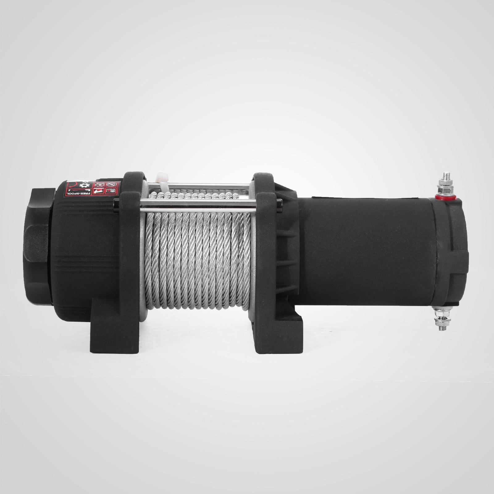 3000-4000-6000-13500LBS-12V-Verricello-elettrico-Filo-Auto-Suv miniatura 17