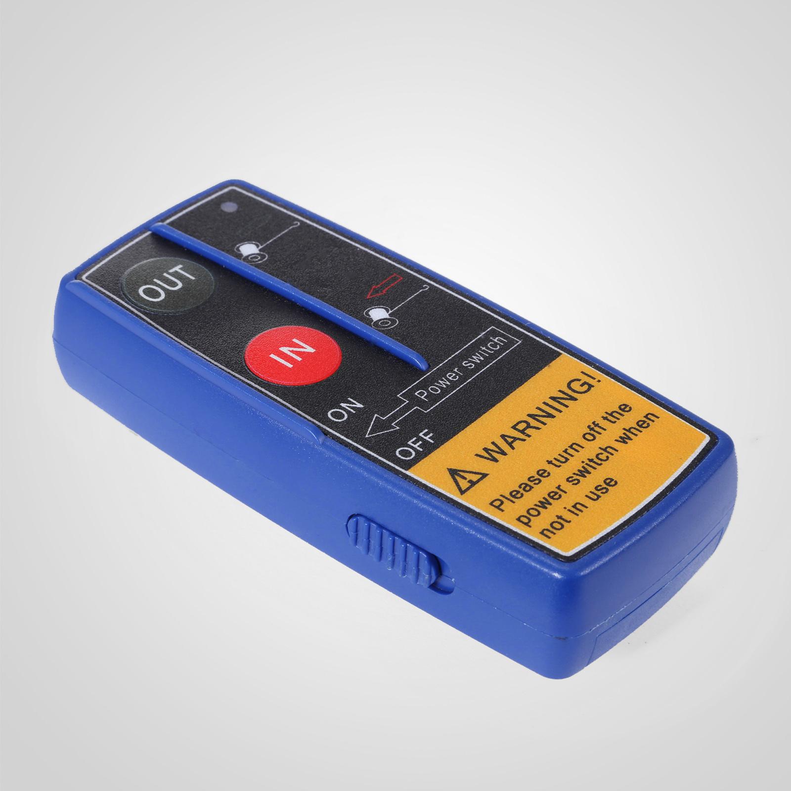 3000-4000-6000-13500LBS-12V-Verricello-elettrico-Filo-Auto-Suv miniatura 21