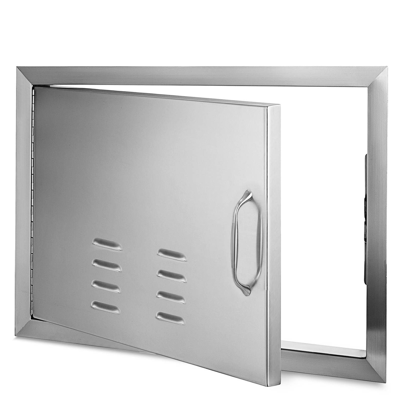 Details about Outdoor Kitchen BBQ Island Components Stainless Steel Access  Door And Drawer