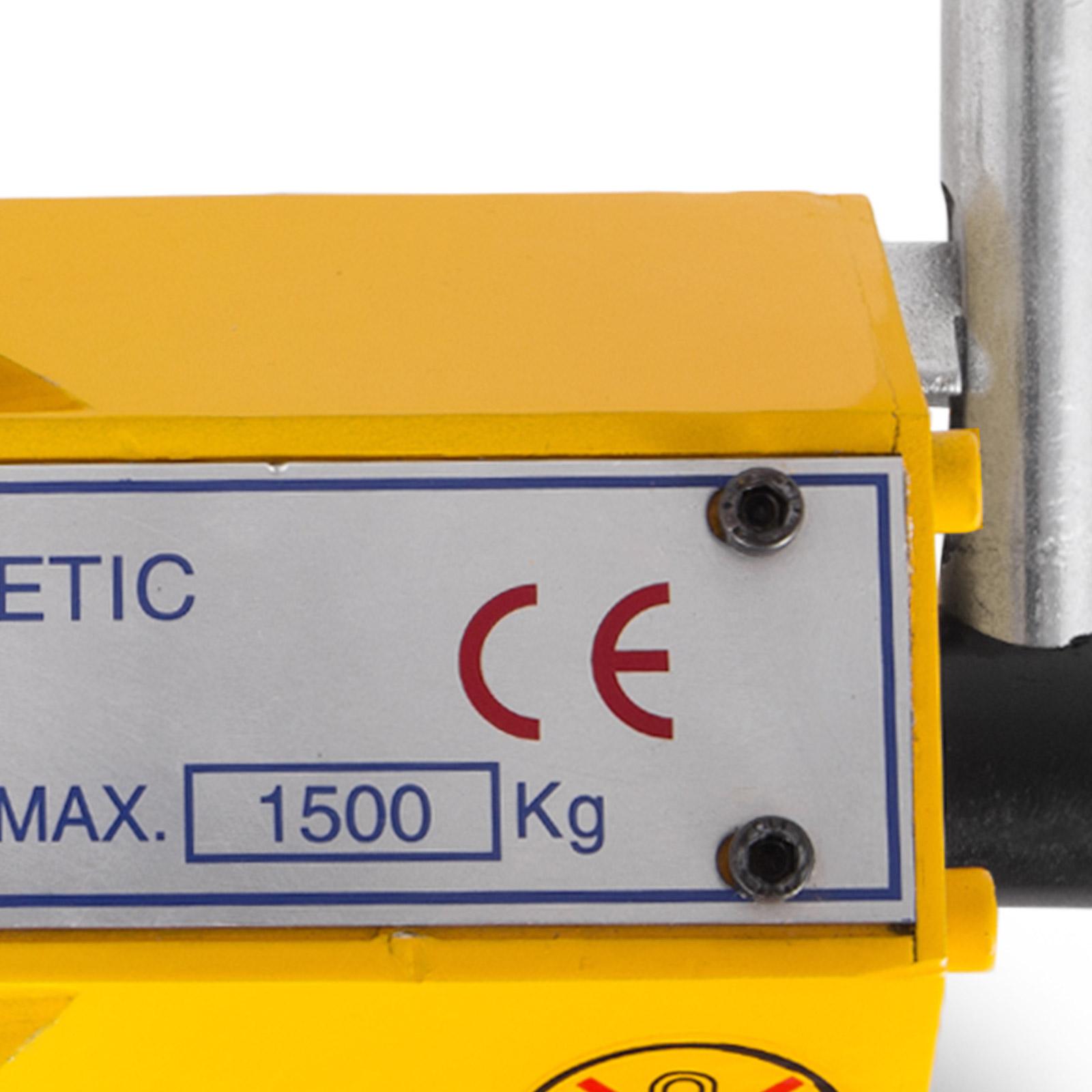 100-300-600-1000KG-Steel-Magnetic-Lifter-Heavy-Duty-Crane-Hoist-Lifting-Magnet miniature 82